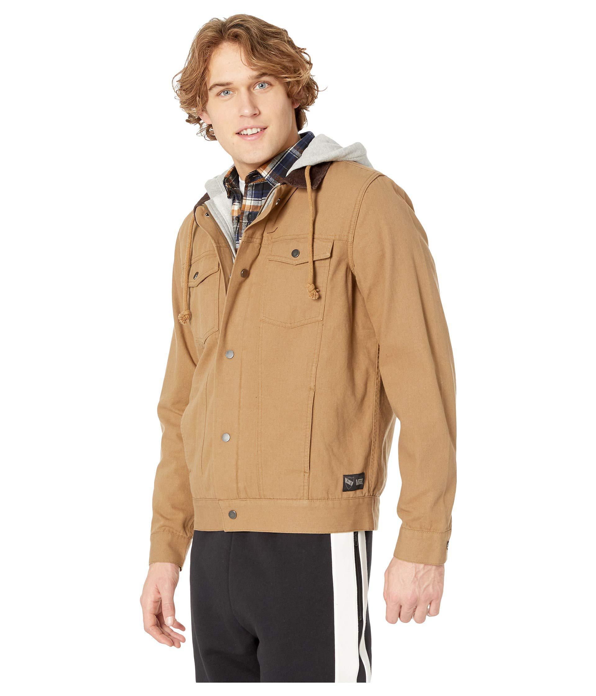 ddebe4b1e2 Lyst - Vans Av Edict Ii Jacket (dirt) Men s Coat for Men