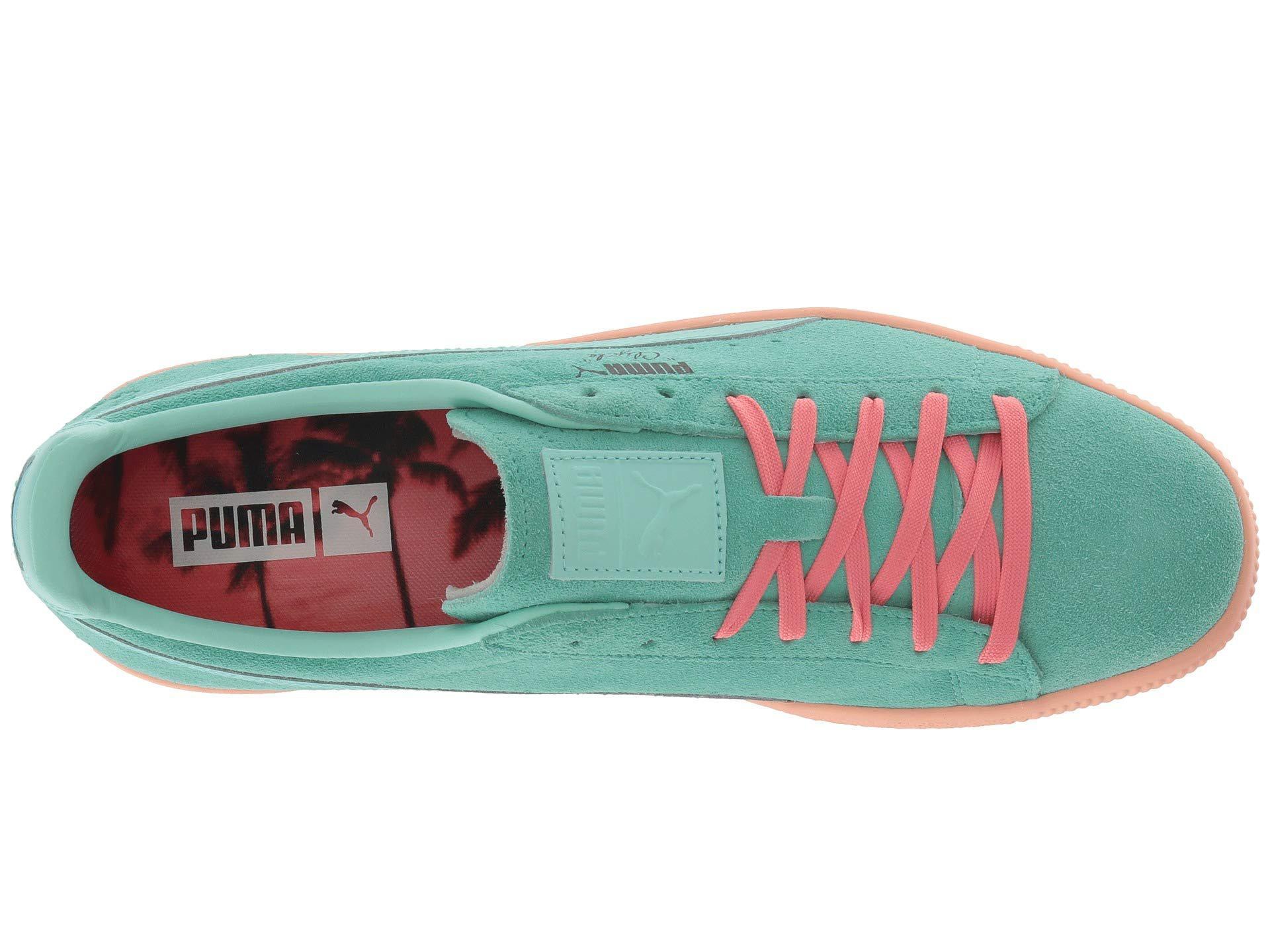 Lyst puma clyde south beach biscay green bay mens shoes jpg 1920x1440 Clyde  south beach sneakers dd645b5e9