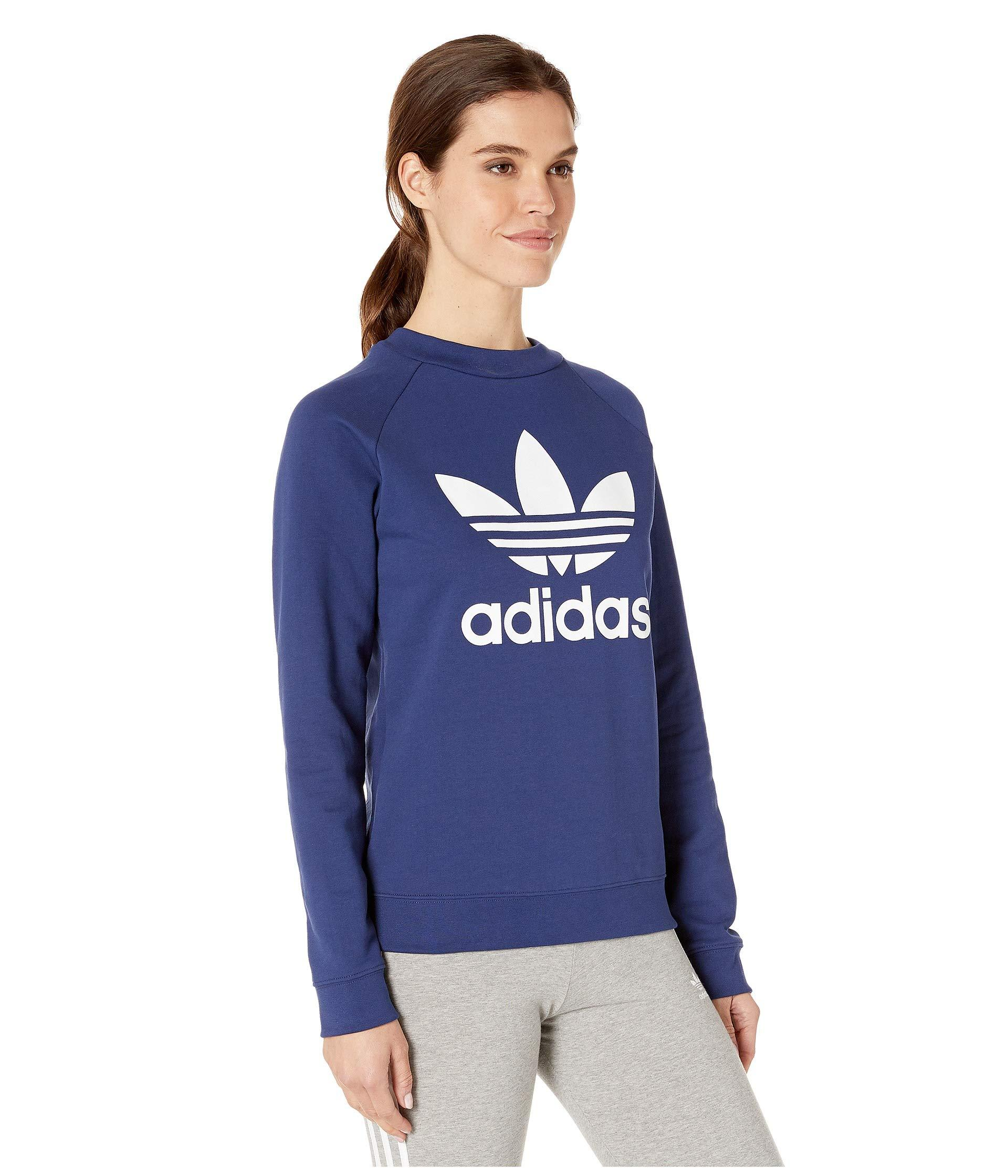 e249304da6c5 Adidas Originals Trefoil Crew Sweatshirt Pink | Saddha