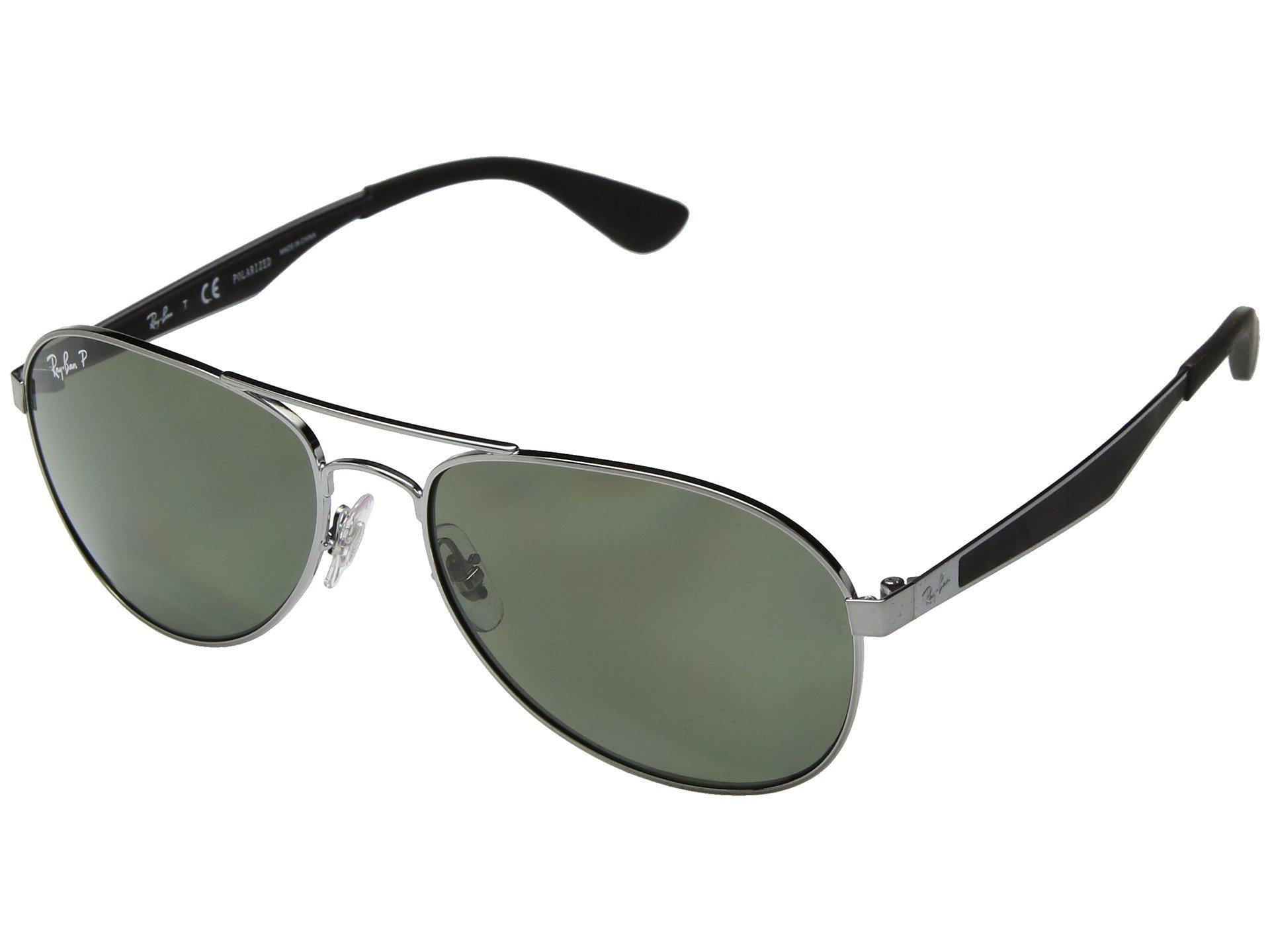 86999066f7 Ray-Ban. Men s 0rb3549 58mm (gunmetal polarized Green Classic G-15) Fashion  Sunglasses
