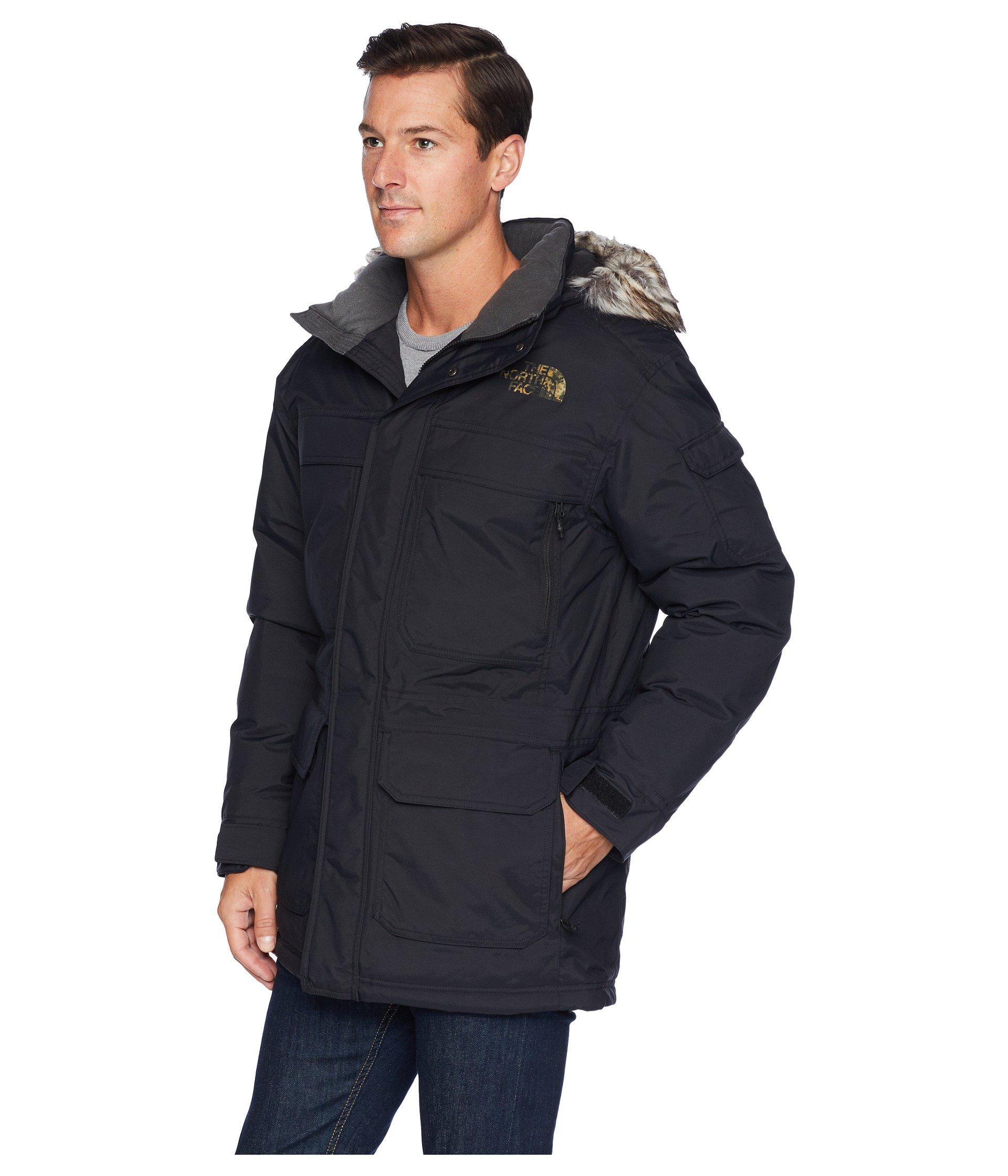 Lyst - The North Face Mcmurdo Parka Iii (new Taupe Green Combo) Men s Coat  in Black for Men 1ab1009cb3e2