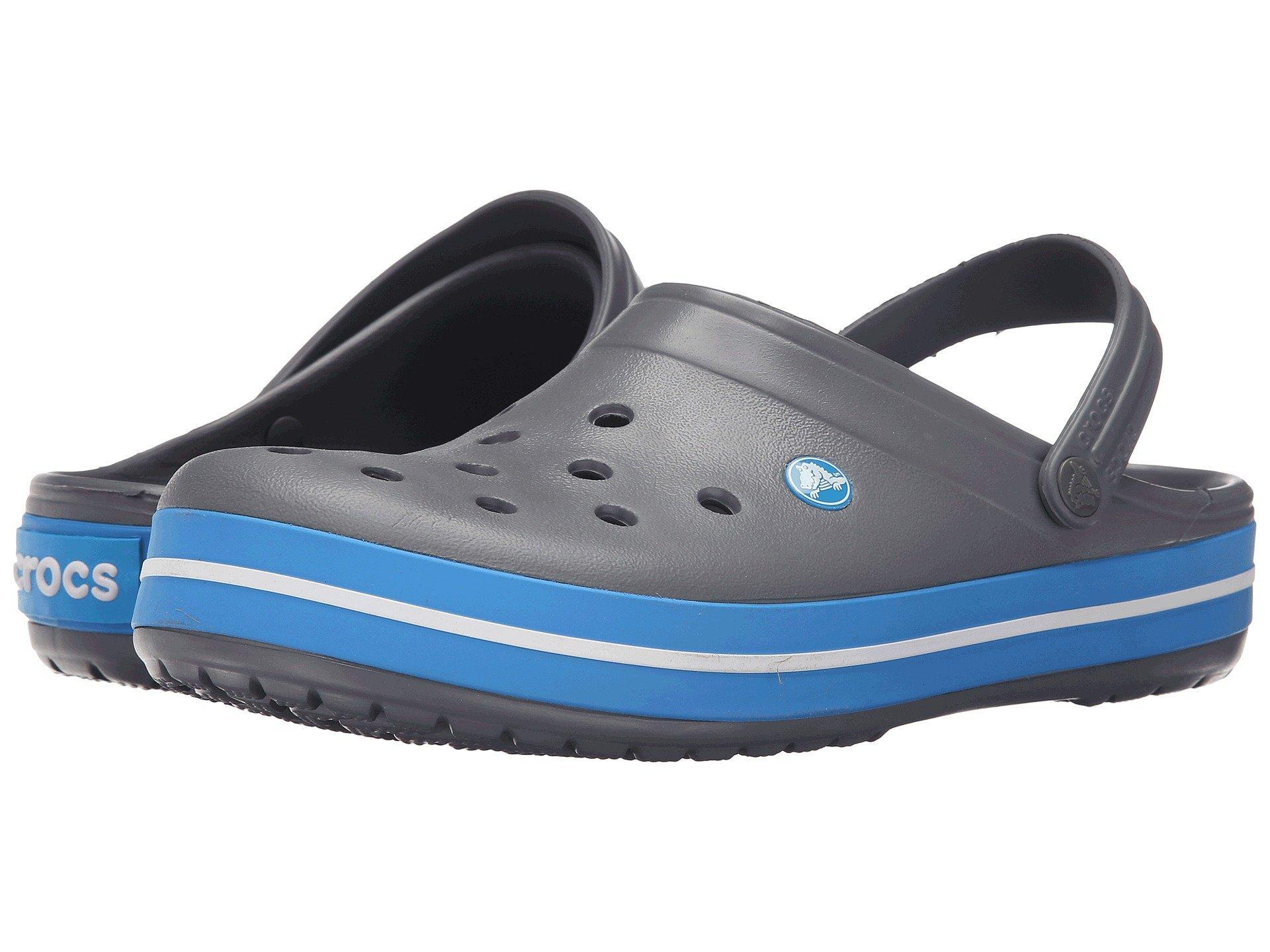 47cc66ec07 Lyst - Crocs™ Crocband Clog (melon ice Blue) Clog Shoes