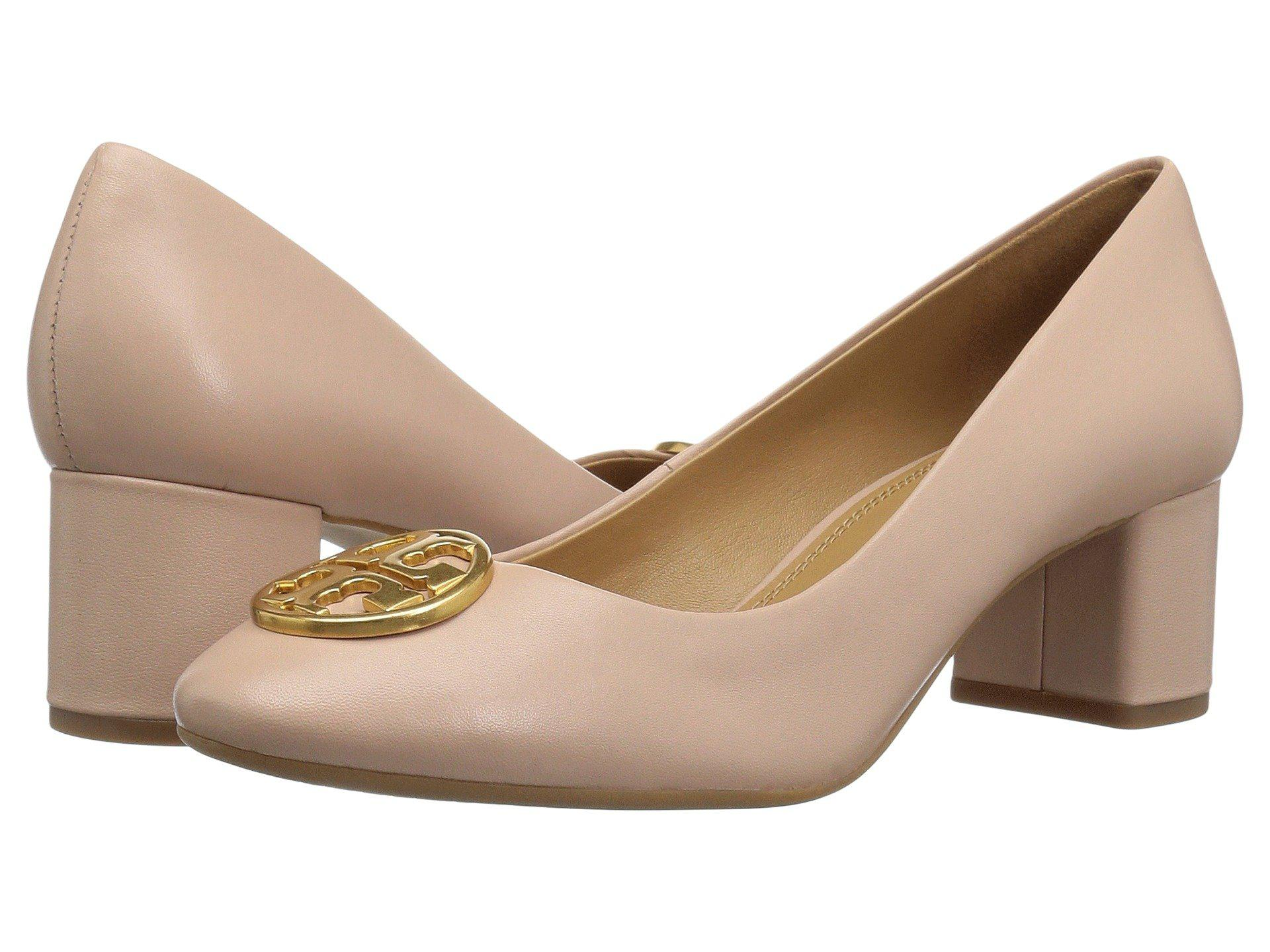 c4d242f009f67 Lyst - Tory Burch Chelsea 50mm Pump (tan) Women s Shoes in Natural ...