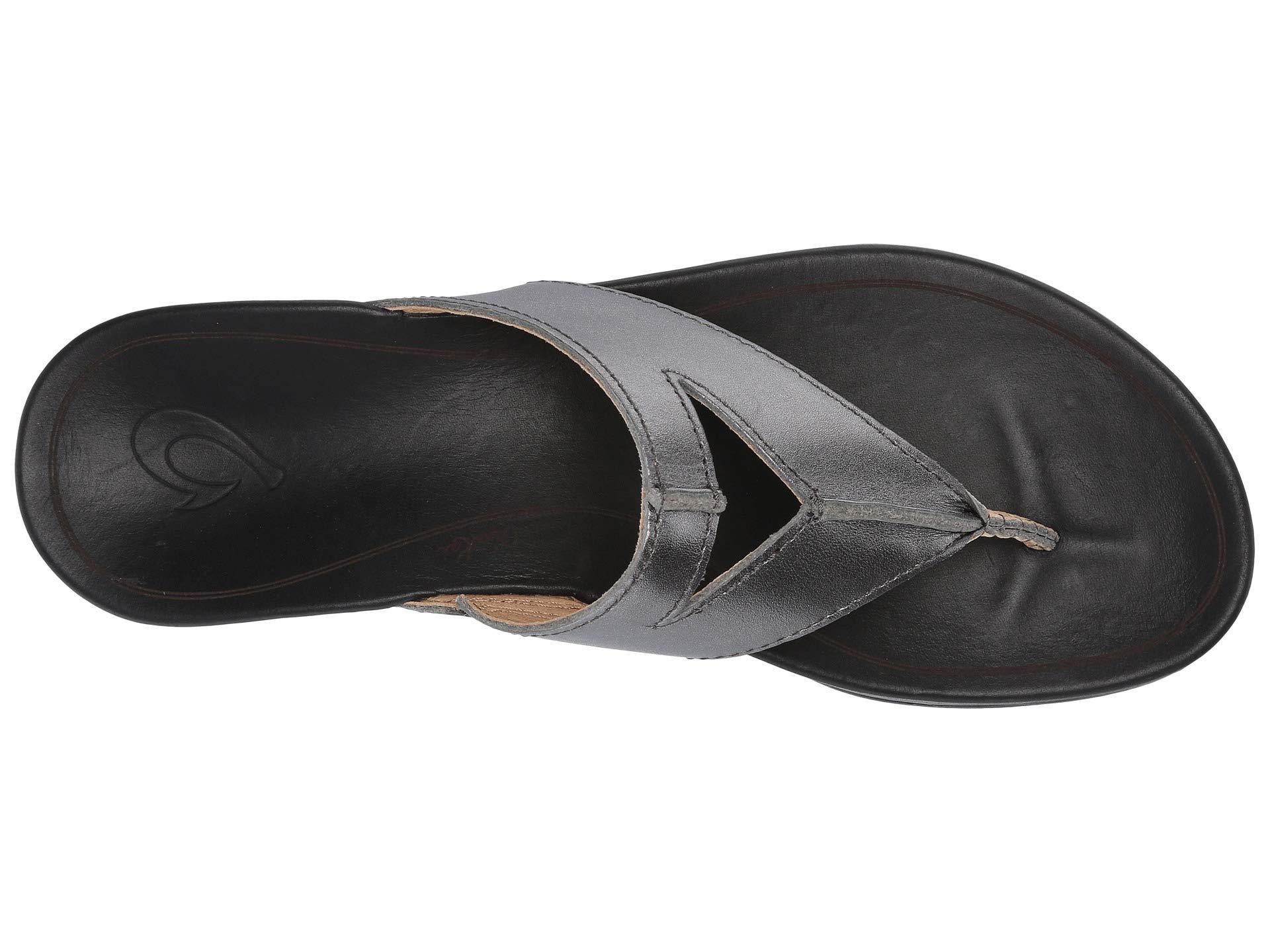 10c42b0aed87 Olukai - Lala (black tan) Women s Sandals - Lyst. View fullscreen