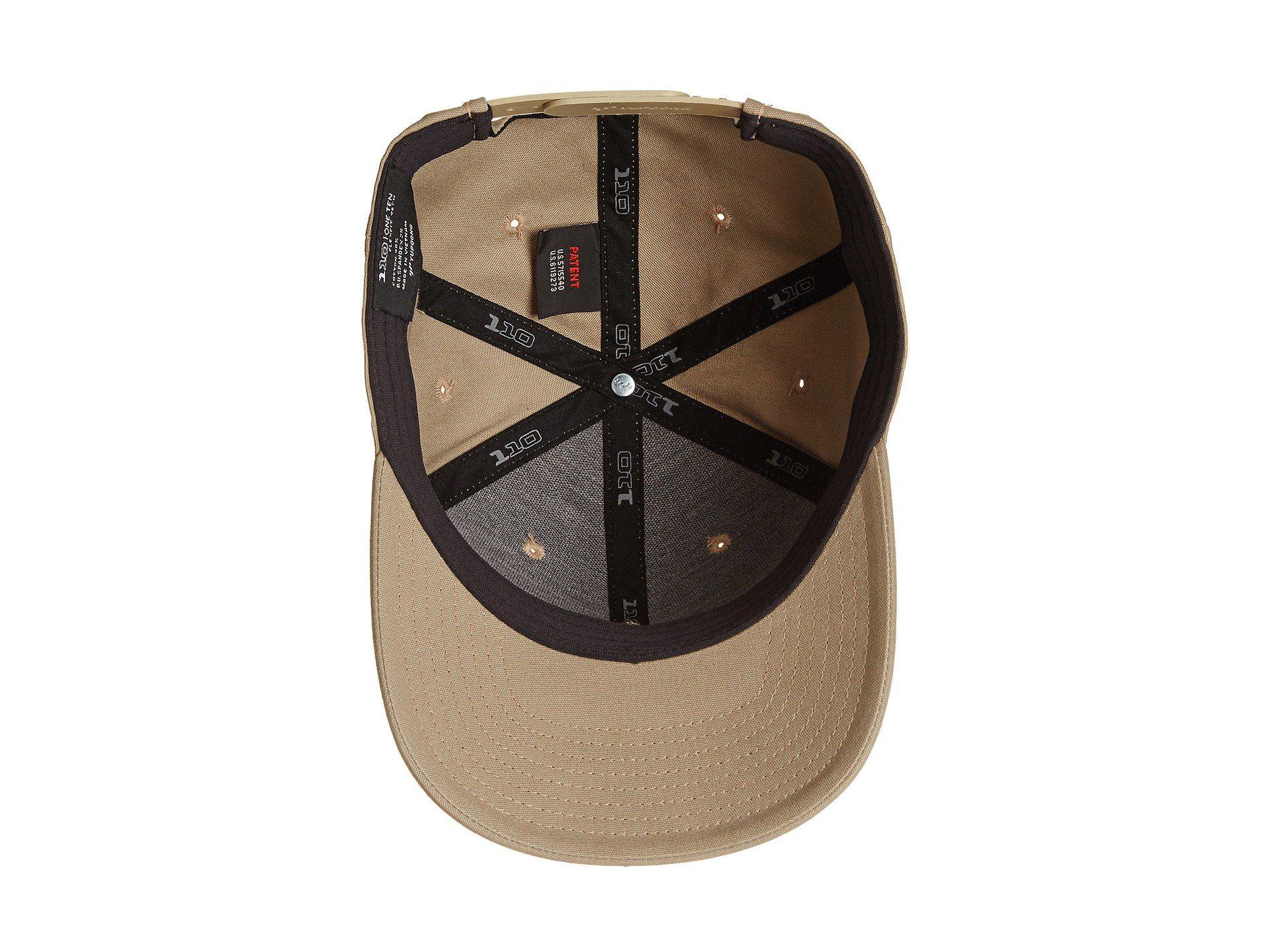 327c79e94d30a Lyst - Prana Logo Ball Cap (dark Khaki) Baseball Caps in Natural for Men