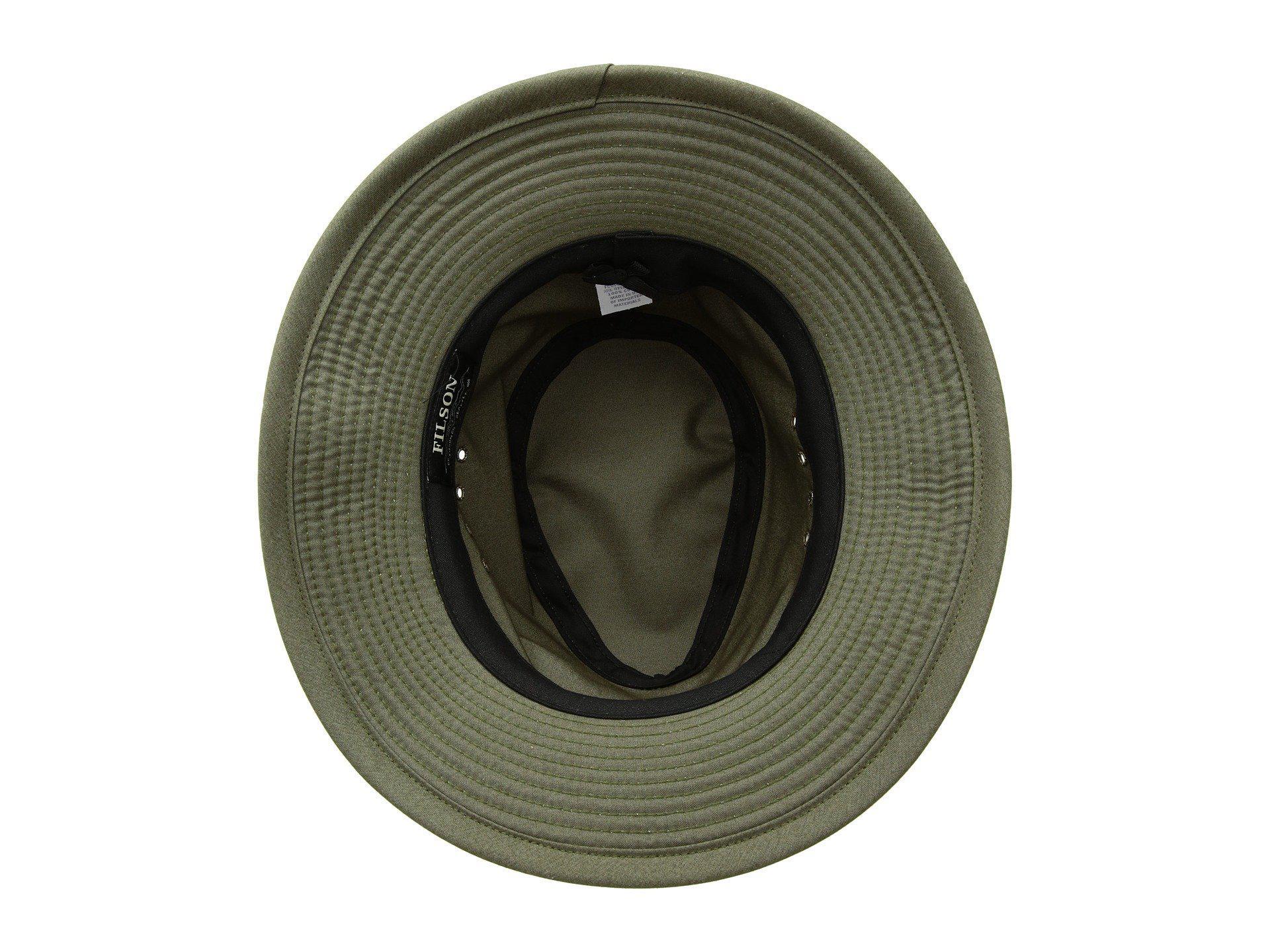 Lyst - Filson Summer Packer Hat (otter Green) Caps in Green for Men 57567ed4d99