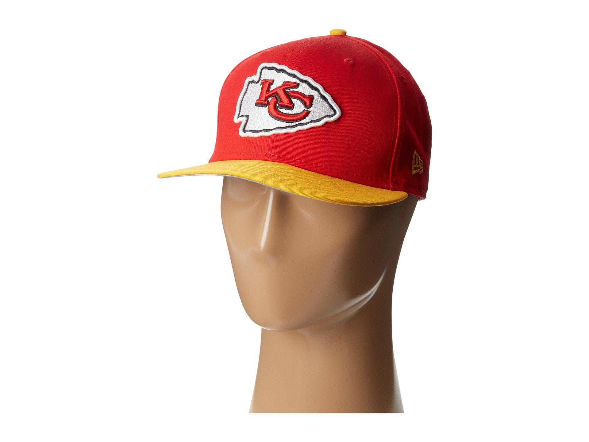 Lyst - Ktz Nfl Baycik Snap 59fifty - Kansas City Chiefs in Red for Men cc6b660ef