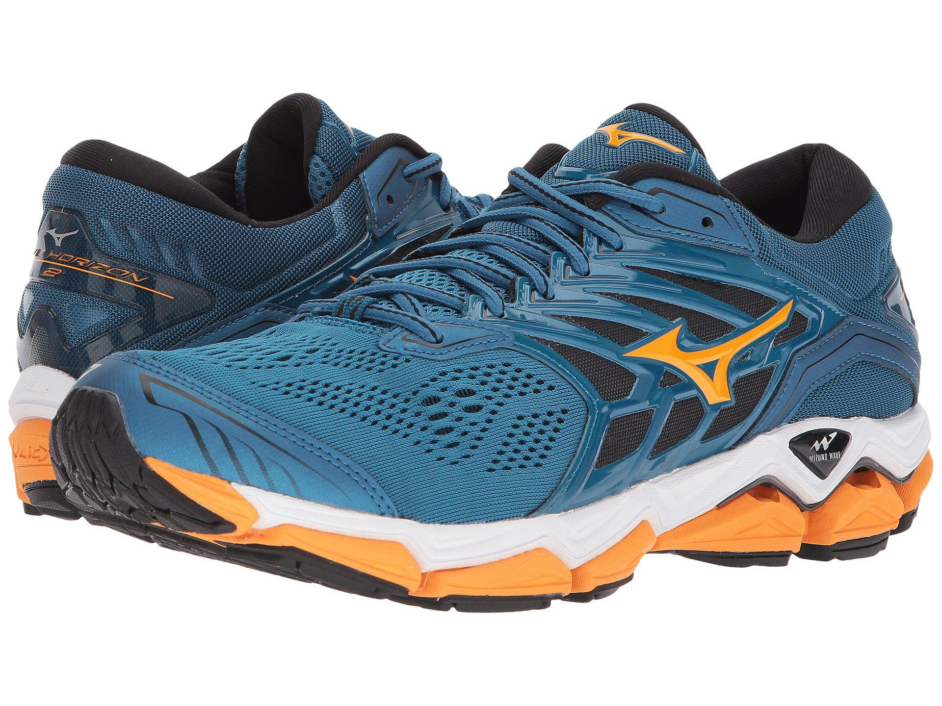 official photos 2eee7 f8372 ... official store mizuno. wave horizon 2 blue sapphire bright 52bc6 d4ed3