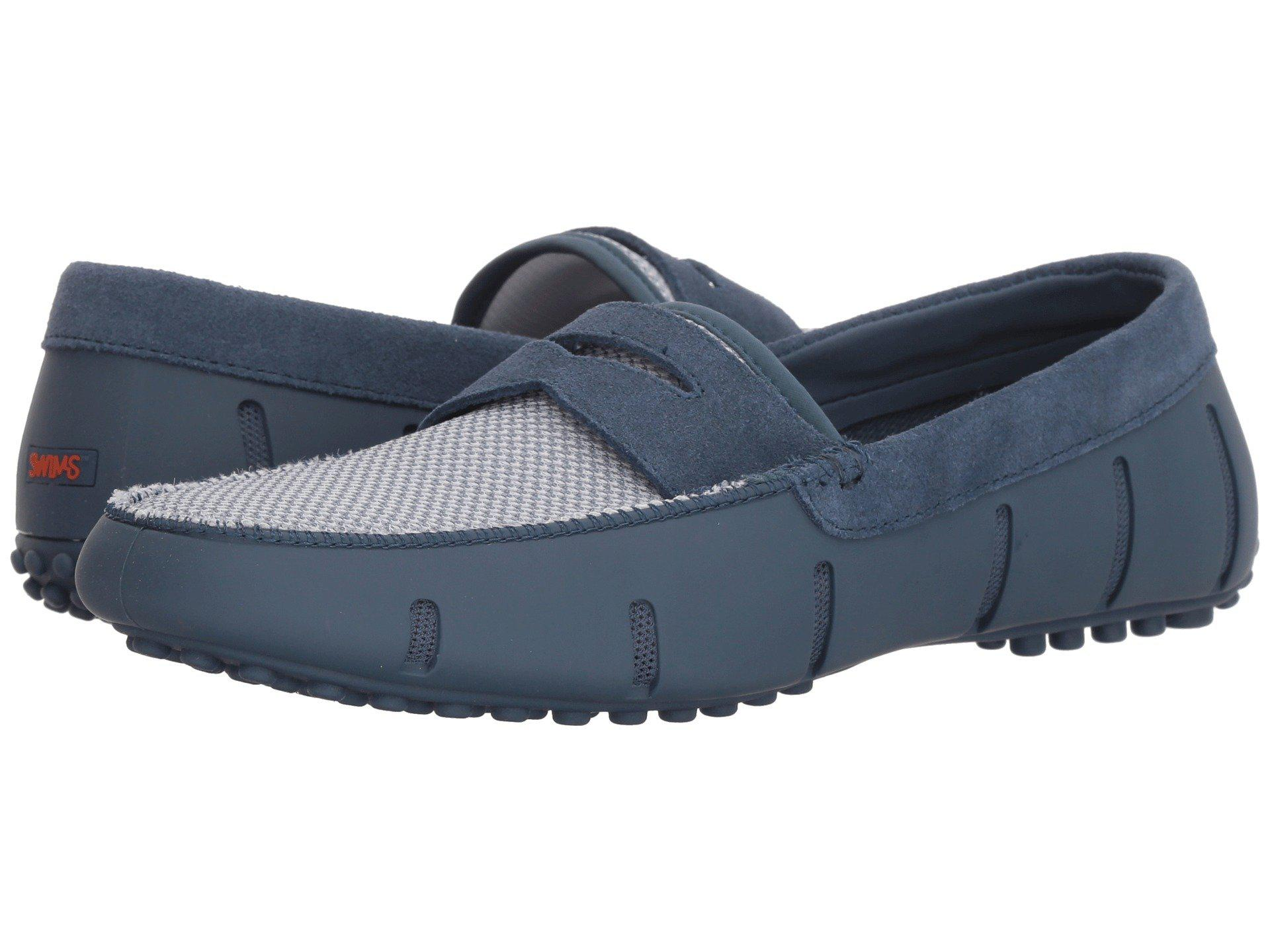 68b31685879 Lyst - Swims Penny Loafer Driver (khaki white) Men s Shoes in Blue ...