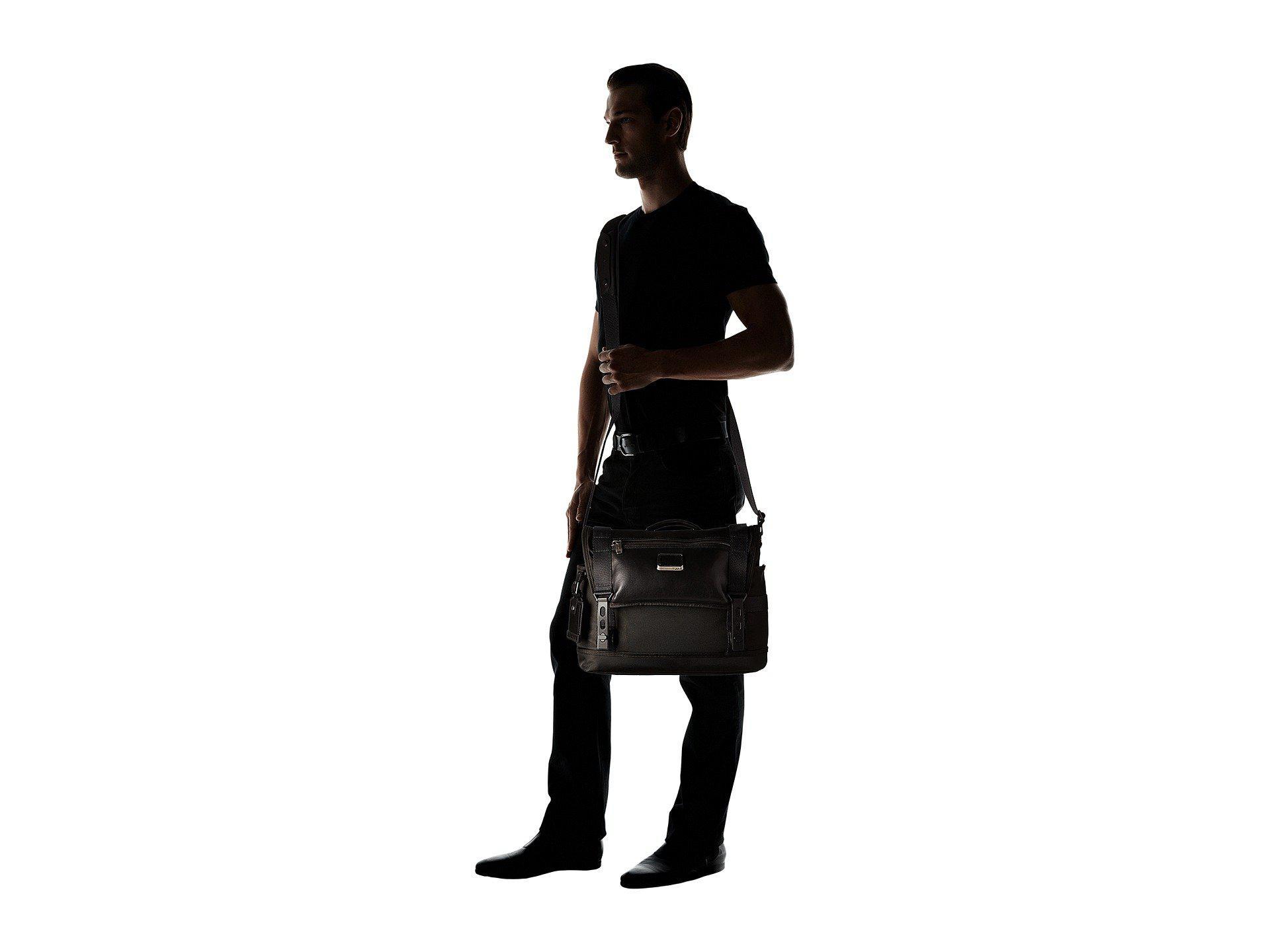 0387b12042cc Lyst - Tumi Alpha Bravo Fallon Messenger (black) Messenger Bags in ...