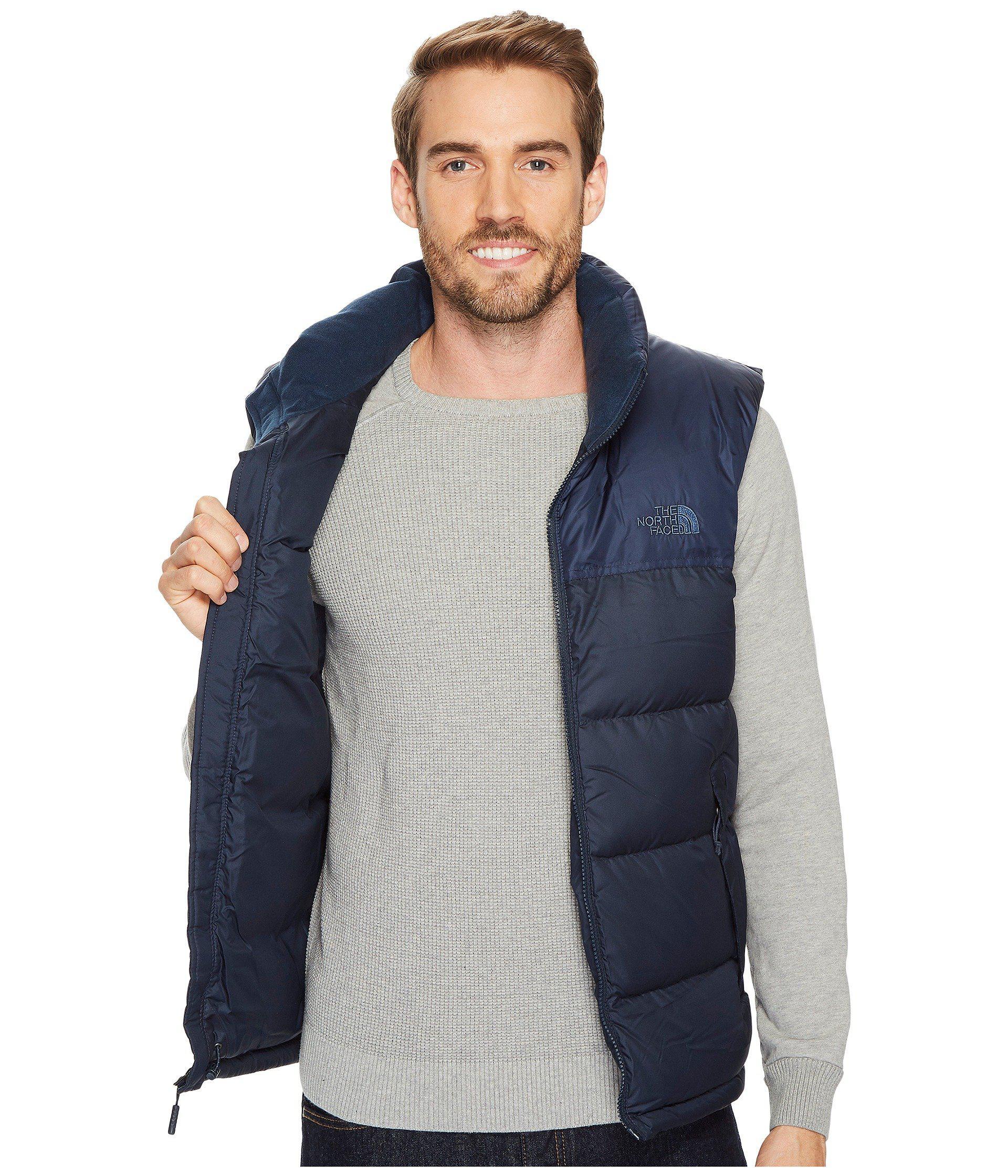 ... Lyst  cheap for discount ede96 d7e79 ... the north face blue nuptse vest  for men ... b0c57e12c