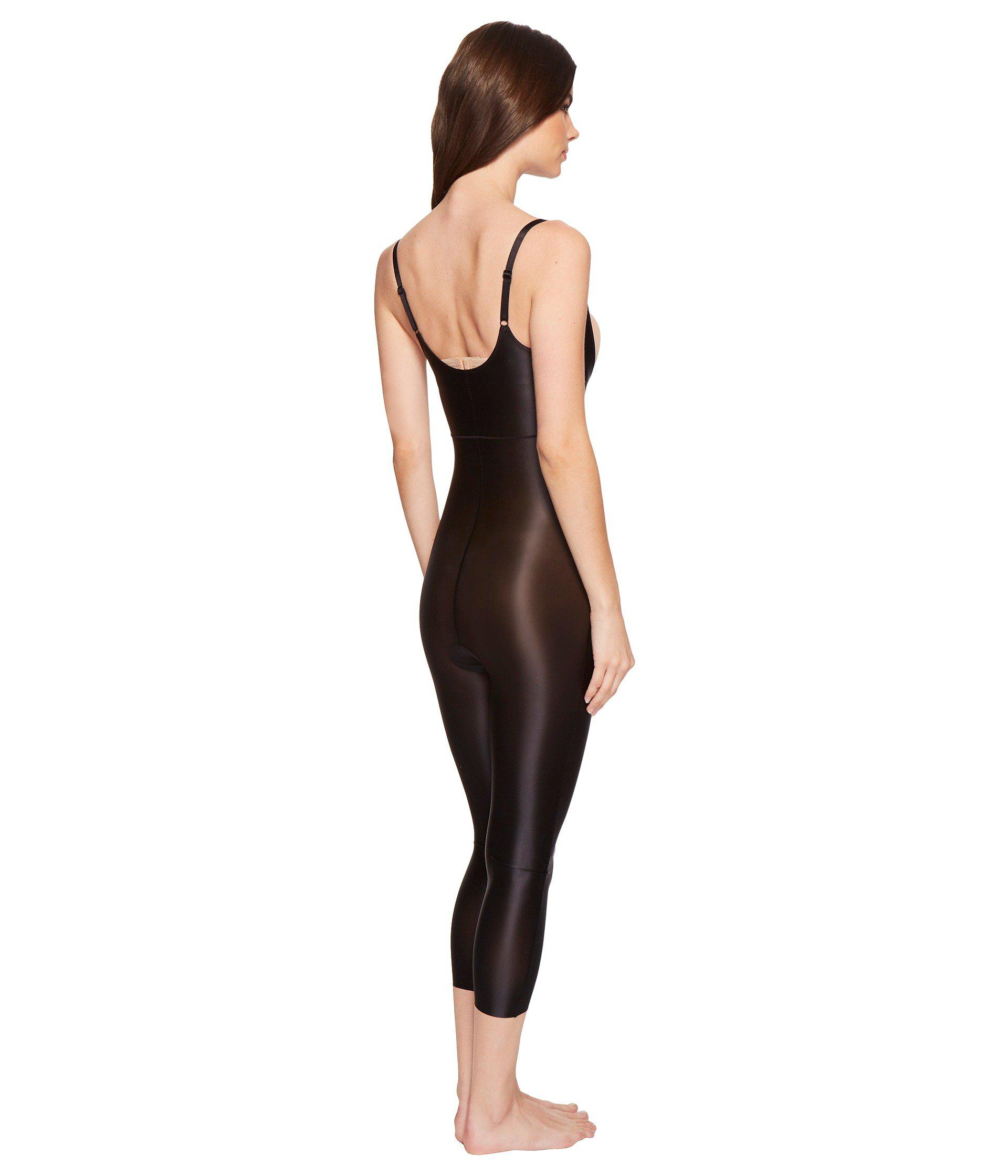 89028874687 Spanx - Black Suit Your Fancy Open-bust Catsuit (broadway Beige) Women s  Jumpsuit. View fullscreen