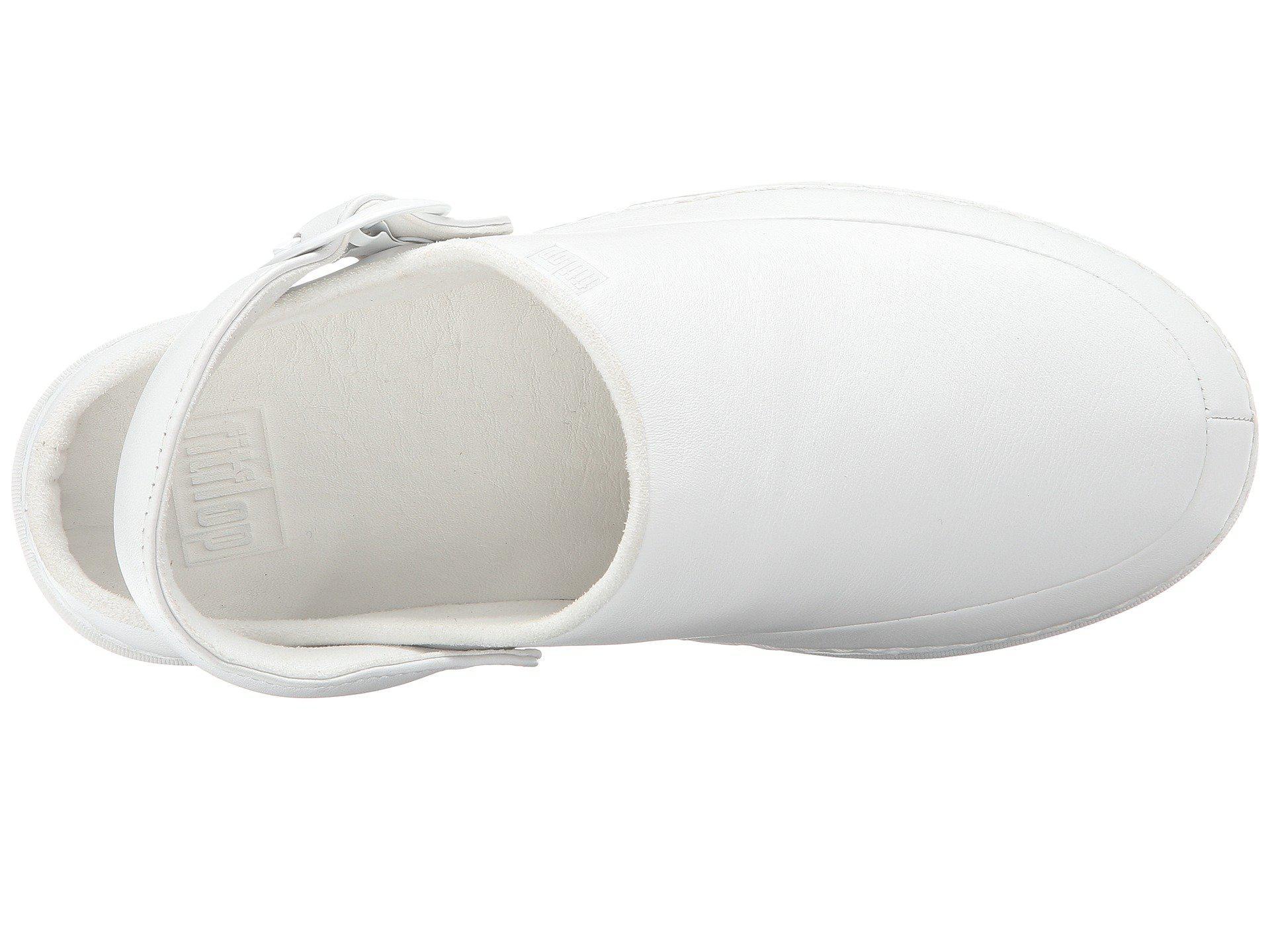 b7f570b075b4 Fitflop - Goghtm Pro Superlight (urban White) Women s Clog Shoes - Lyst.  View fullscreen