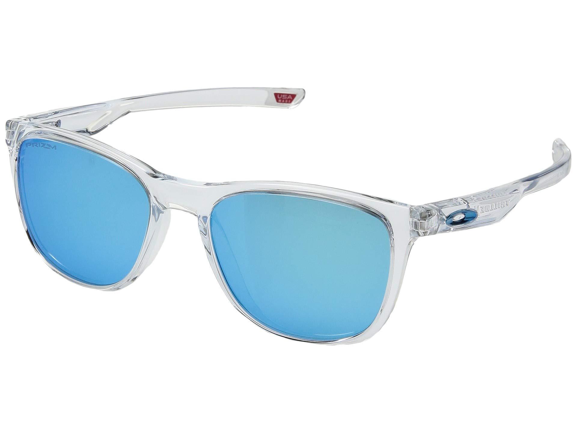 5163e59df867 Lyst - Oakley Trillbe X (polished Clear prizm Sapphire) Sport ...