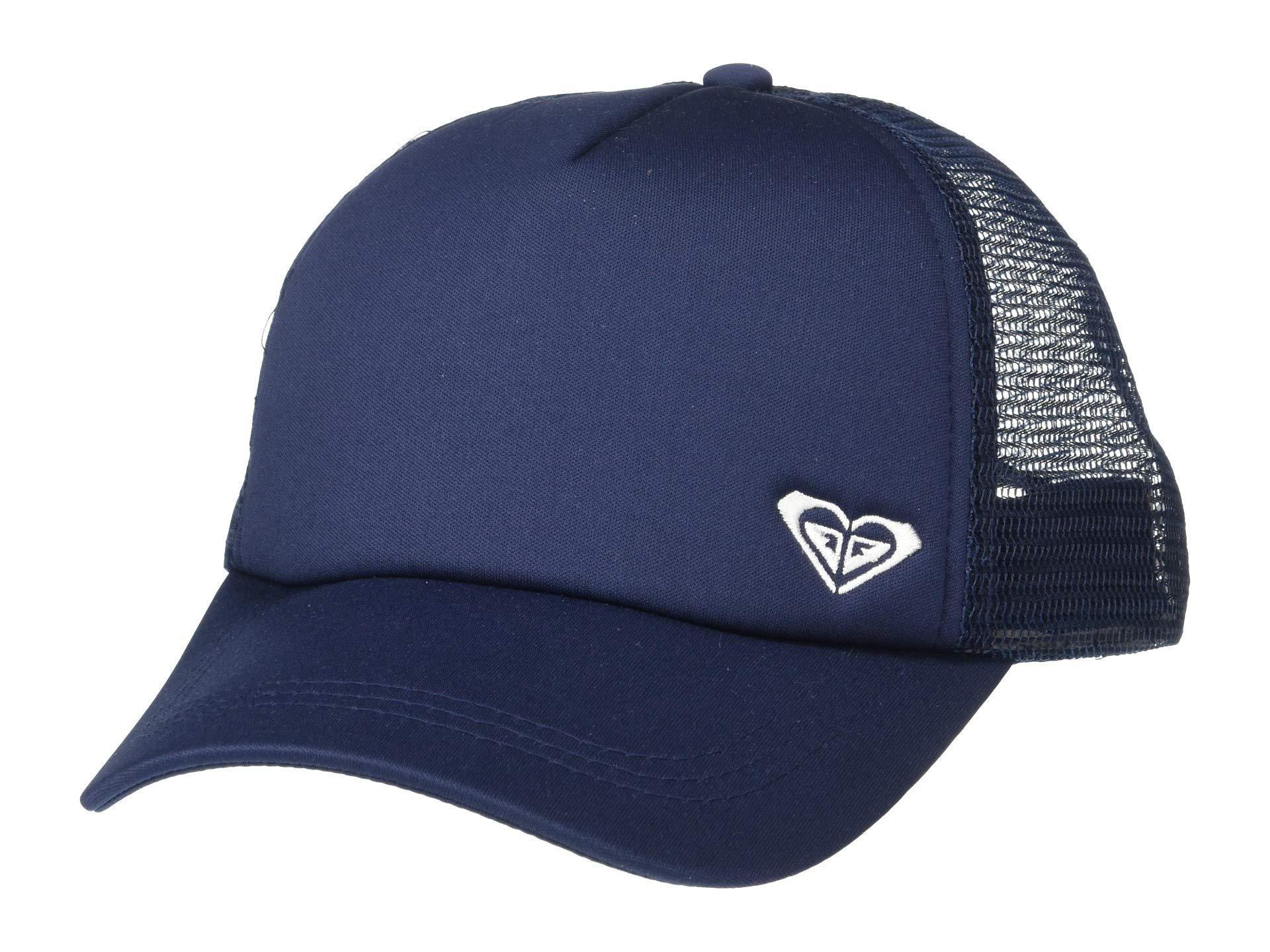 02ab7e910 Lyst - Roxy Finishline Trucker Hat (dress Blues) Caps in Blue