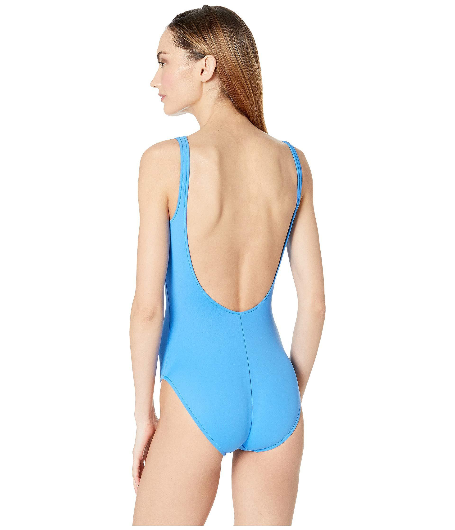 a552c2a91d99a Polo Ralph Lauren - Blue Modern Solid Martinique One-piece (pool) Women s  Swimsuits. View fullscreen