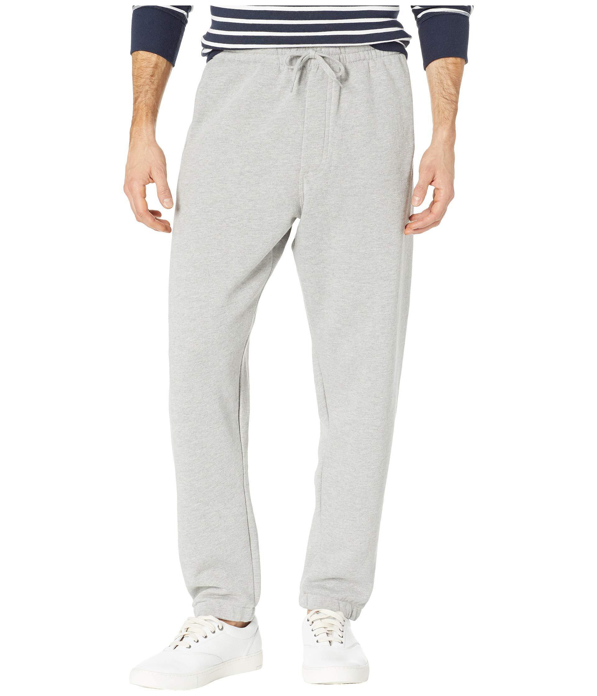2301f7f69cc Lyst - Vans Basic Fleece Pants (cement Heather) Men s Casual Pants ...
