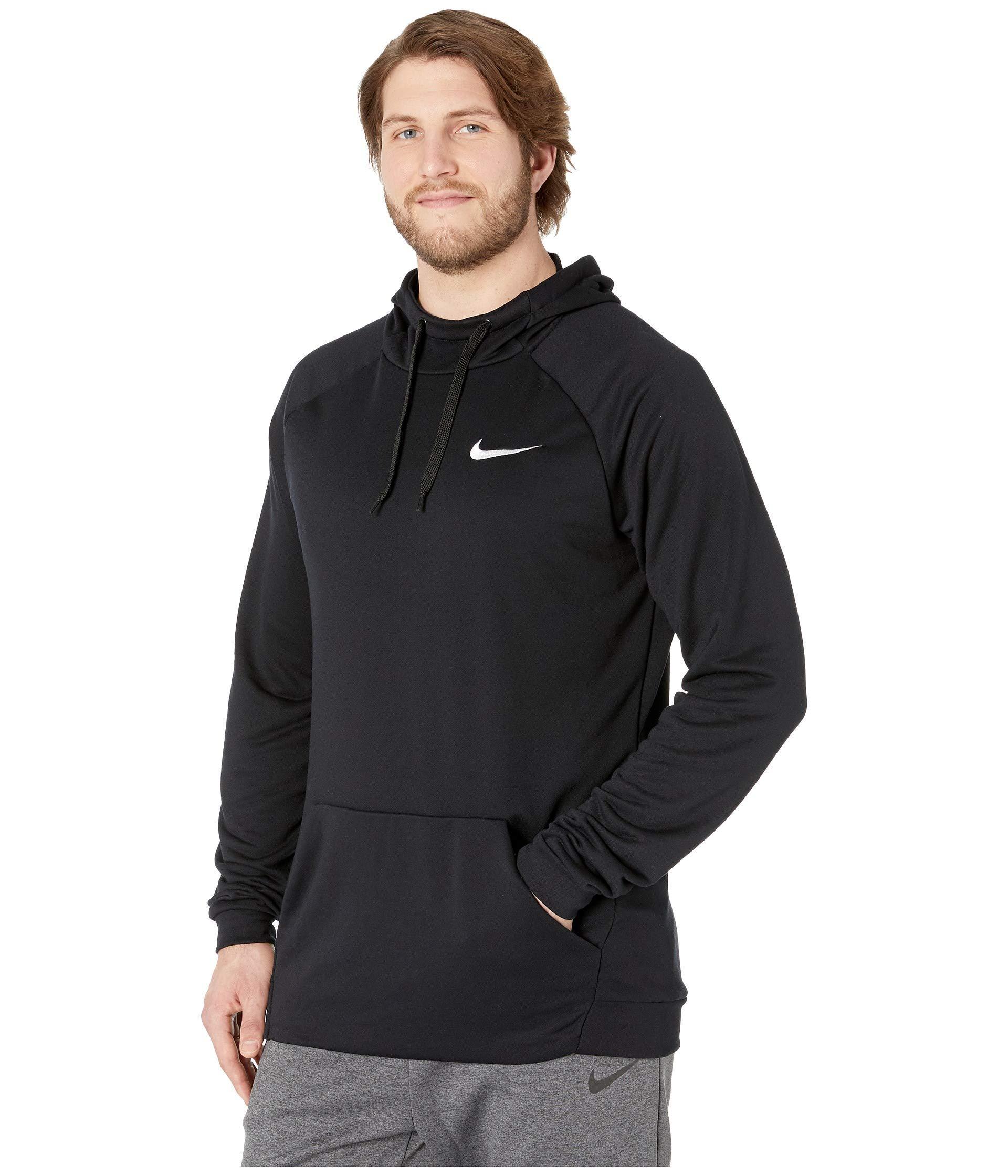 5179ccb585 Lyst - Nike Big Tall Dry Hoodie Pullover Fleece (black white) Men s  Sweatshirt in Black for Men