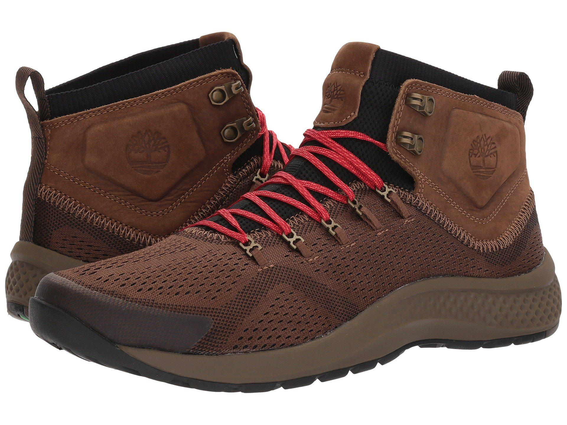 cca6ccefc30d Flyroam Menns Iron Lace Fabric Mid Lyst Timberland Trail Smidd qCwSzS