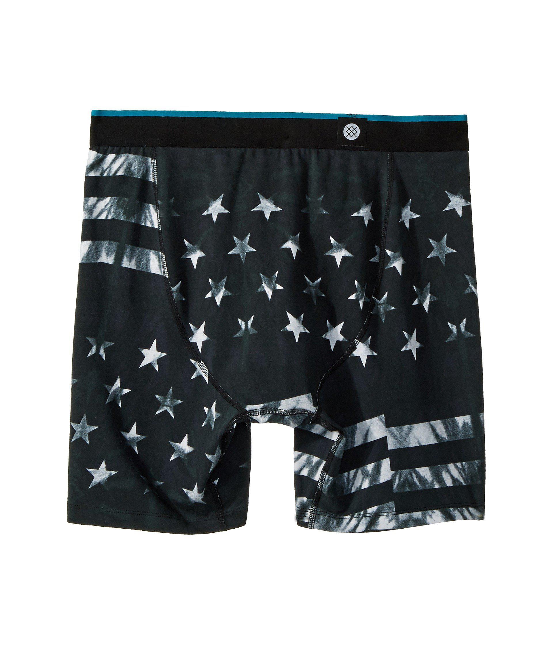 adf2b7cfd20b Stance - Fourth Boxer Brief (black) Men's Underwear for Men - Lyst. View  fullscreen