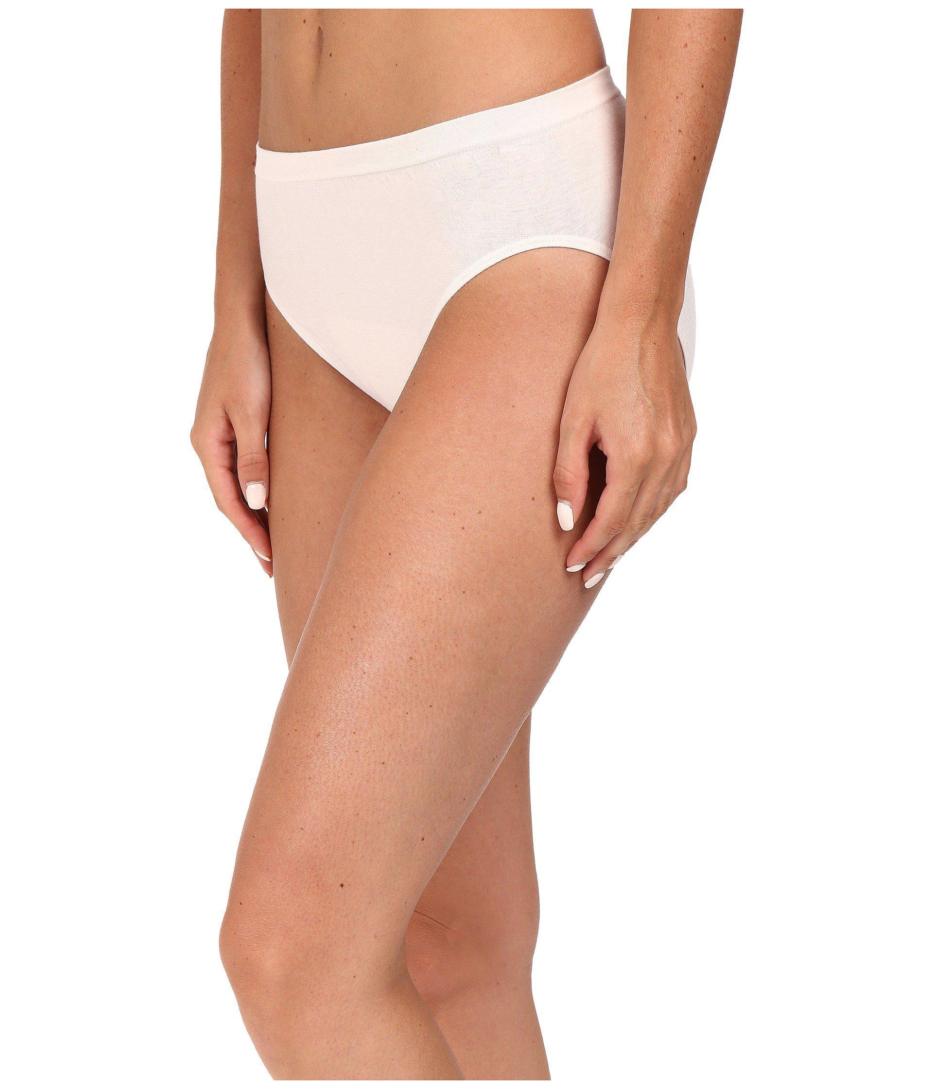 0c8a787c9bc7c Lyst - Jockey Comfies(r) Cotton French Cut 3-pack (white shell White)  Women s Underwear