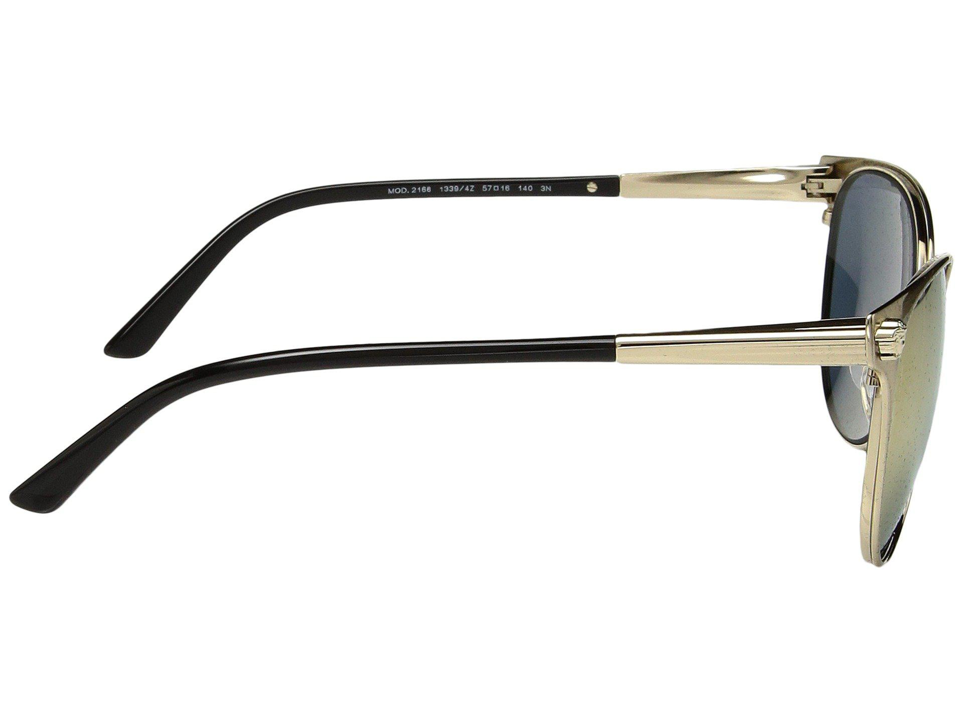 1b4aa354cef6 Lyst - Versace Ve2168 (brushed Pale Gold grey Mirror Rose Gold ...