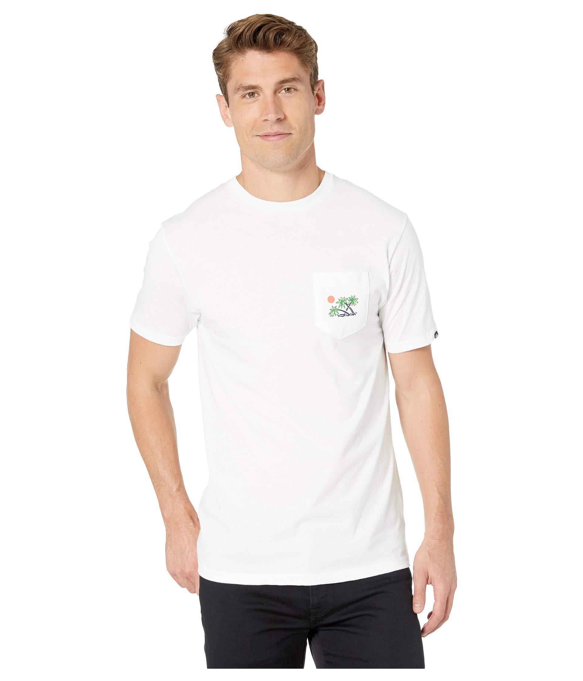 524e21f3e3 Lyst - Vans Scene 12 Pocket T-shirt (white) Men s T Shirt in White ...