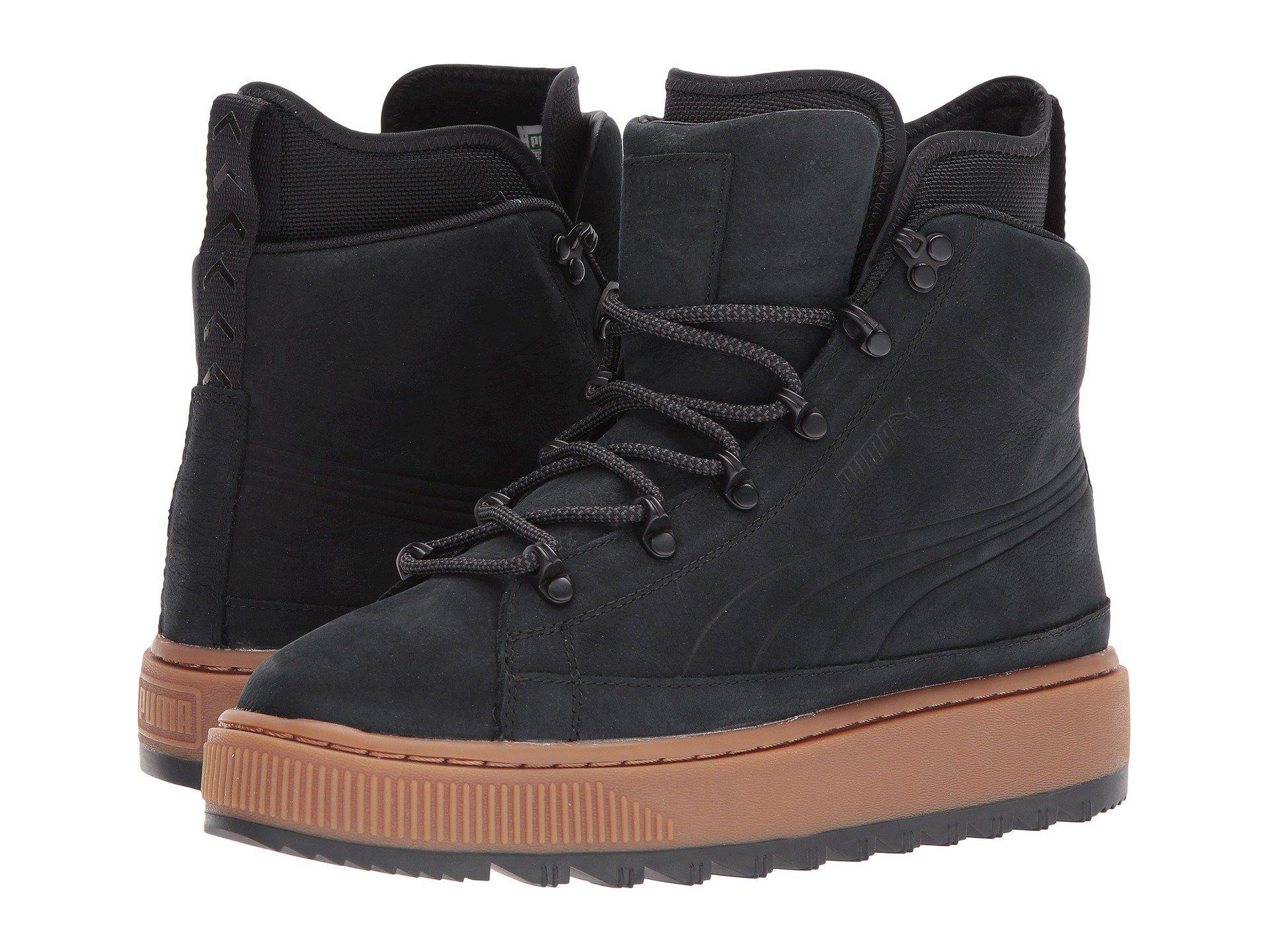 Pumas Courir Les Chaussures Nbk Bateau Salut Baskets Noir Noir gbqGRP7W