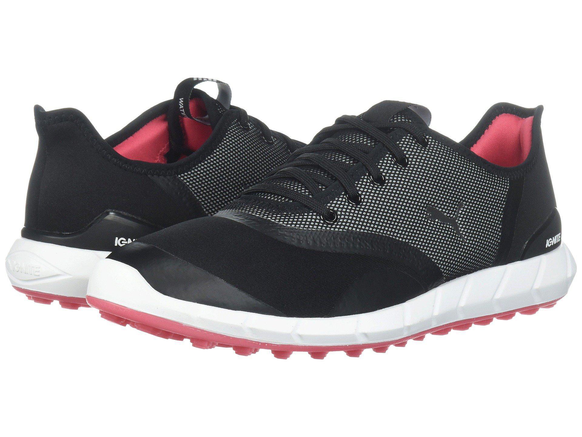 27a296c47534 PUMA - Ignite Statement Low (puma Black puma White) Women s Golf Shoes -.  View fullscreen
