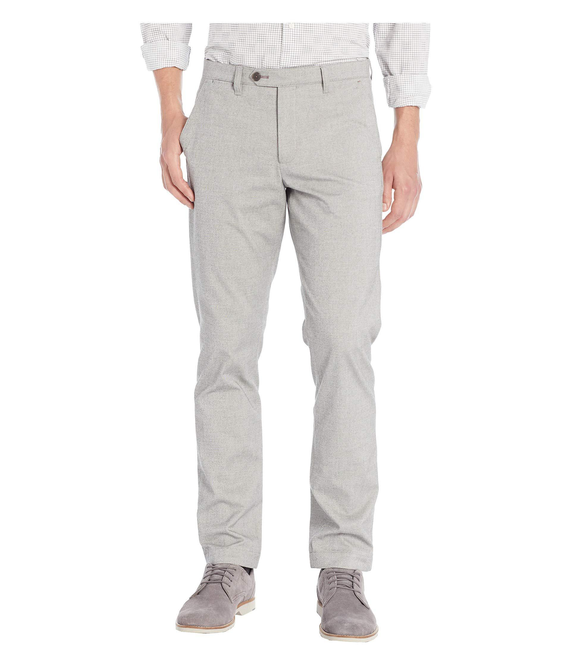 a4ced595afa4 Lyst - Ted Baker Volvek Mini Design Classic Fit Trousers (grey ...