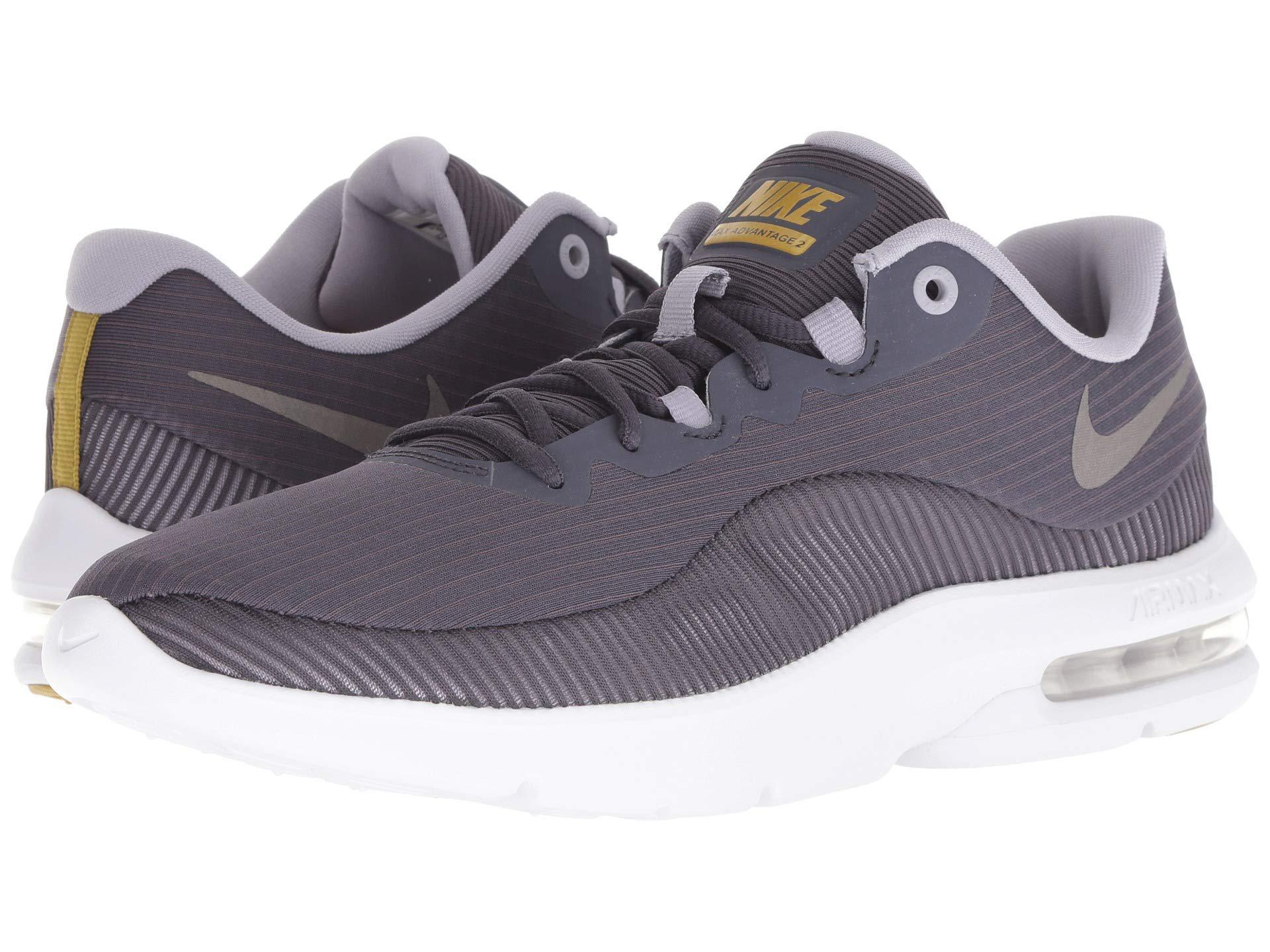 750cb924180 Nike. Air Max Advantage 2 (gridiron metallic Pewter provence Purple) Men s  Running Shoes