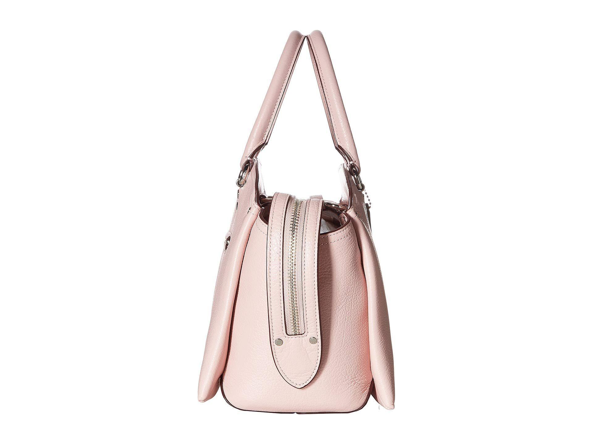 2b2ad66e4228 Lyst - COACH Drew Satchel (beechwood gold) Satchel Handbags in Pink