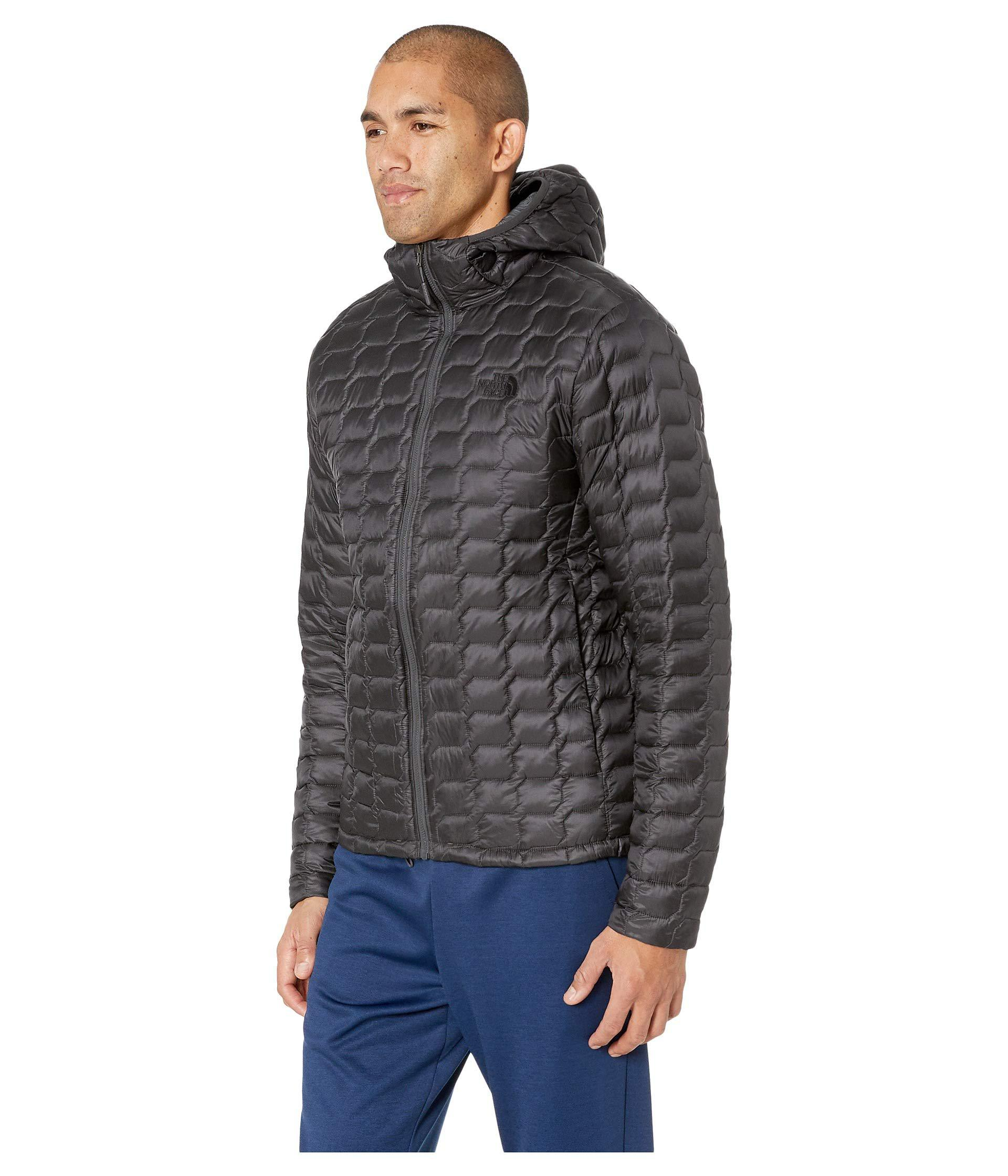 39a5665a8a Lyst - The North Face Thermoball Hoodie (asphalt Grey asphalt Grey) Men s  Coat in Gray for Men