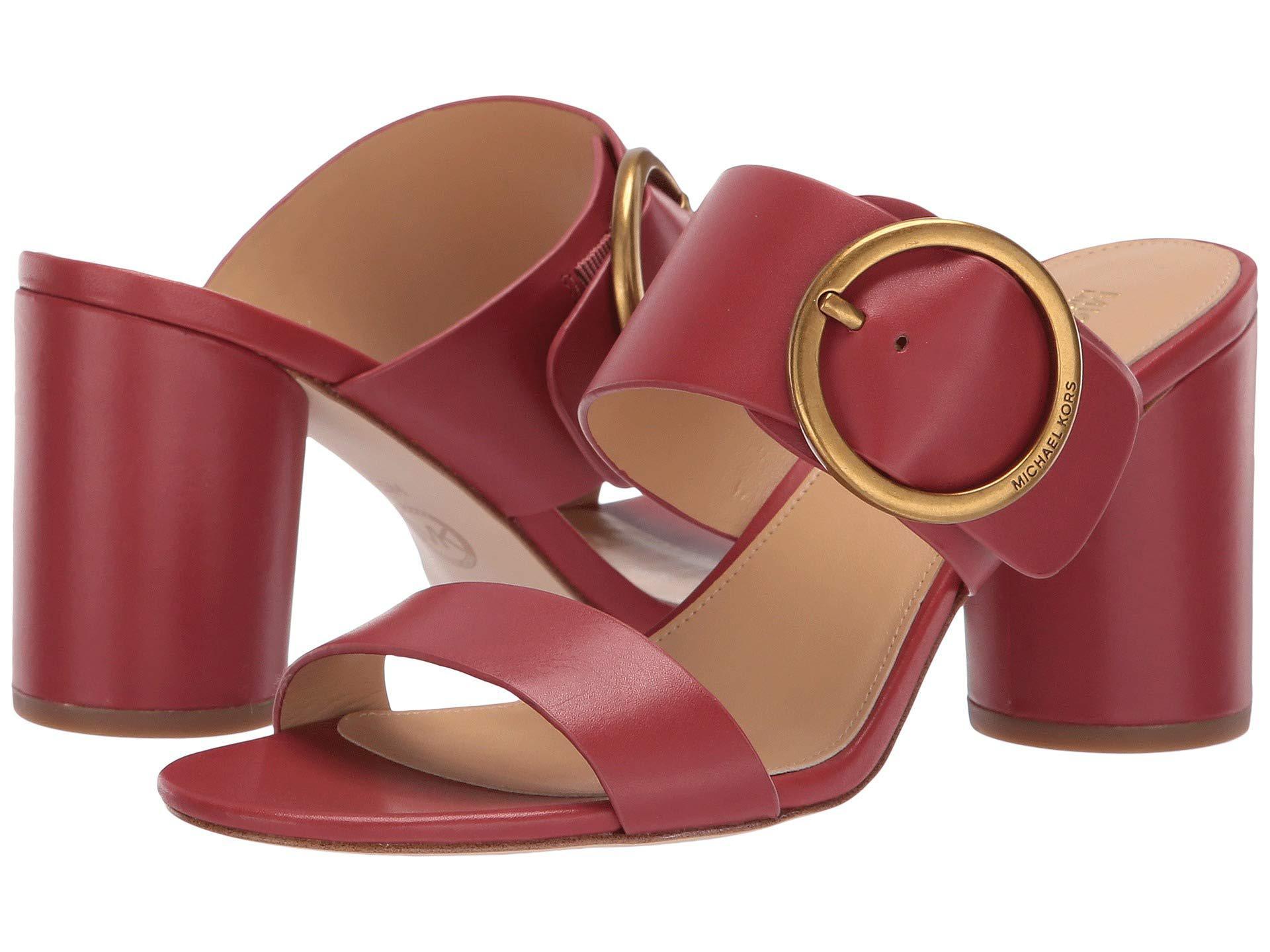7b50898685a MICHAEL Michael Kors. Women s Estelle Mid (terracotta Vachetta) High Heels
