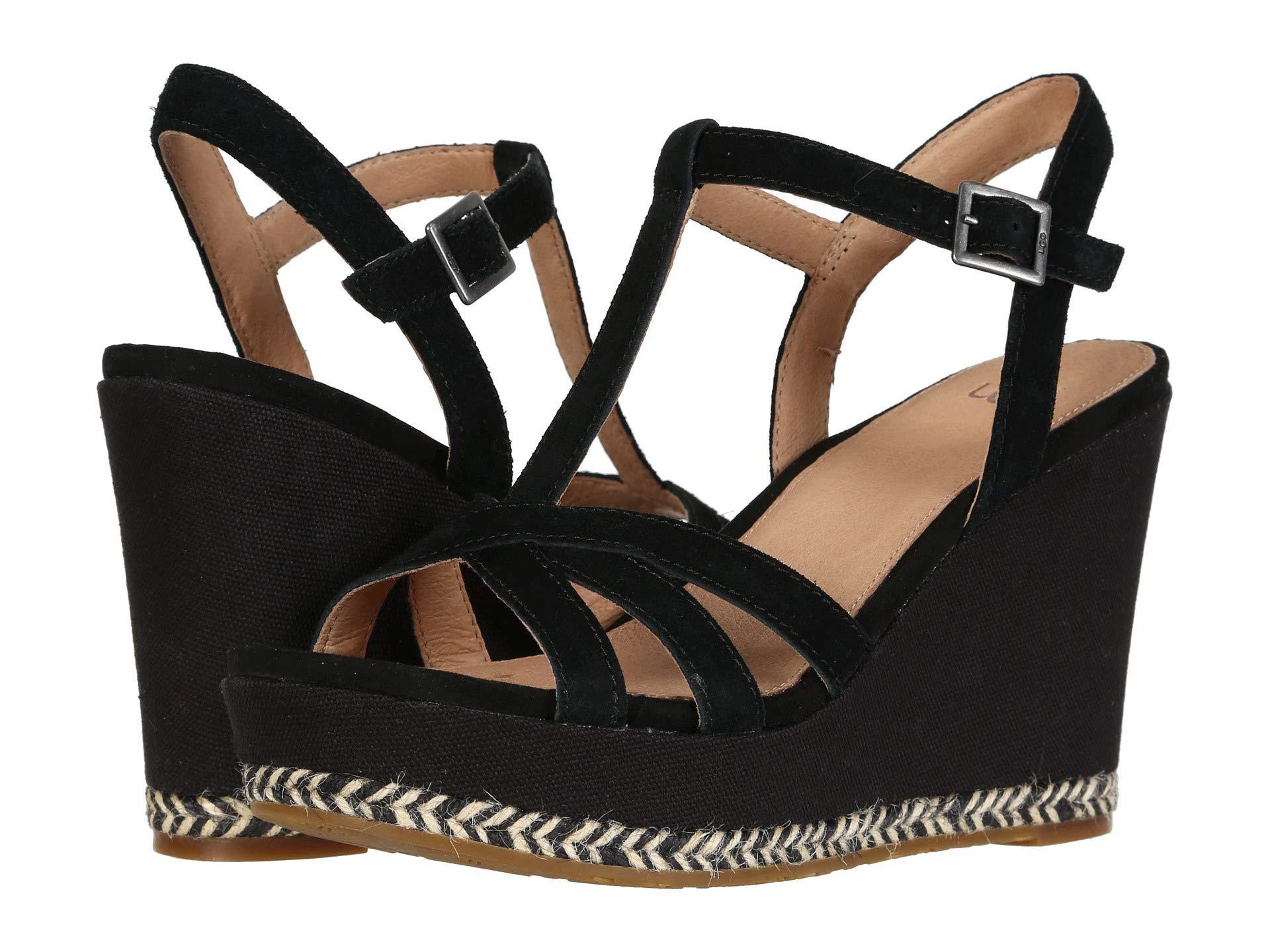 7352c3c3225 Lyst - UGG Melissa (black) Women s Sandals in Black
