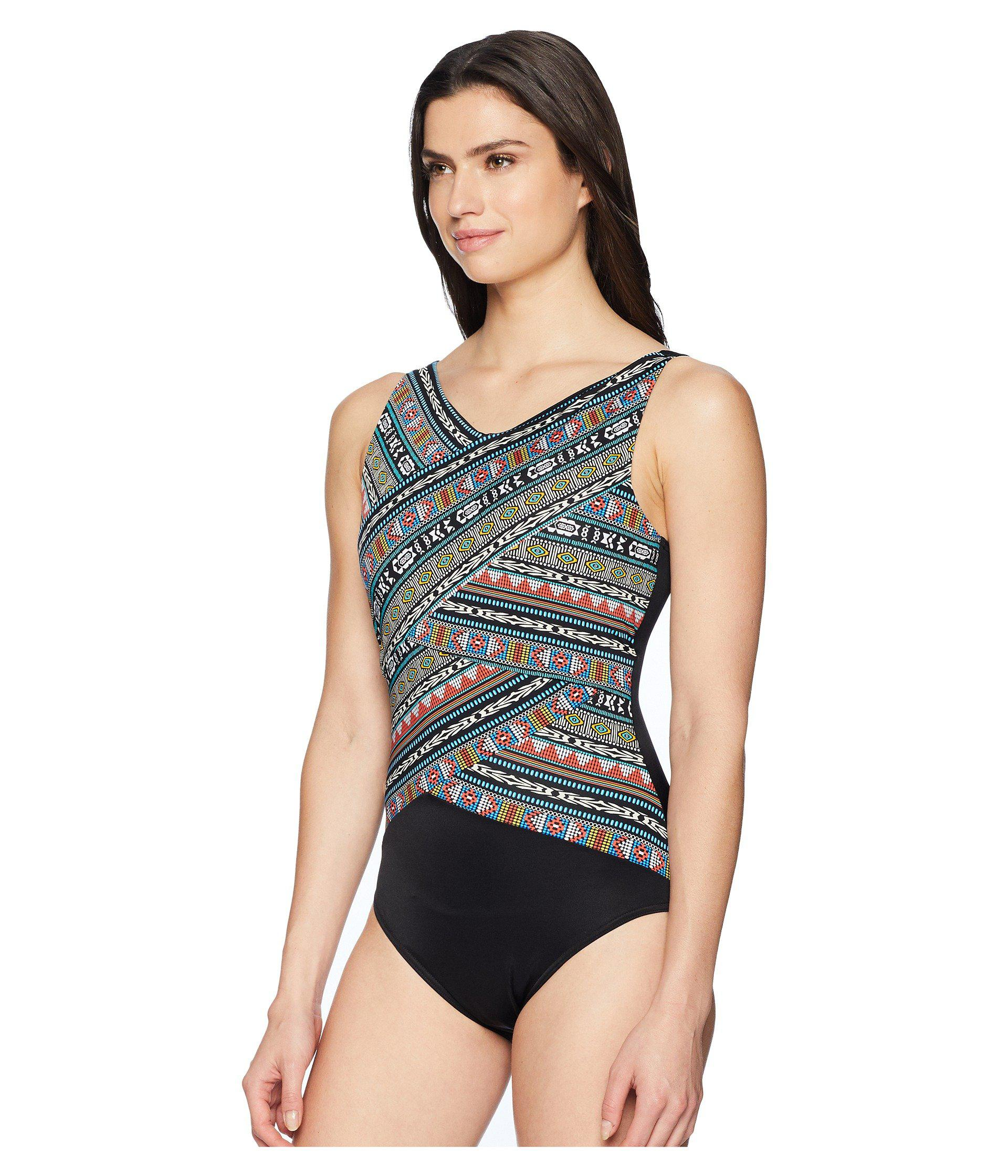 e9ec99234cf73 Lyst - Miraclesuit Mayan Desert Brio One-piece (multi) Women s Swimsuits  One Piece