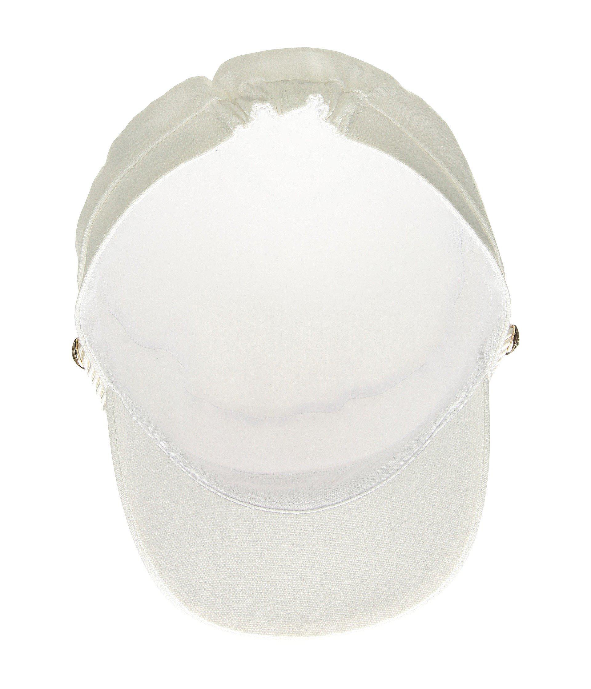 7150ba4b993f7 Hat Attack - White Summer Emmy Newsboy Cap (denim) Caps - Lyst. View  fullscreen