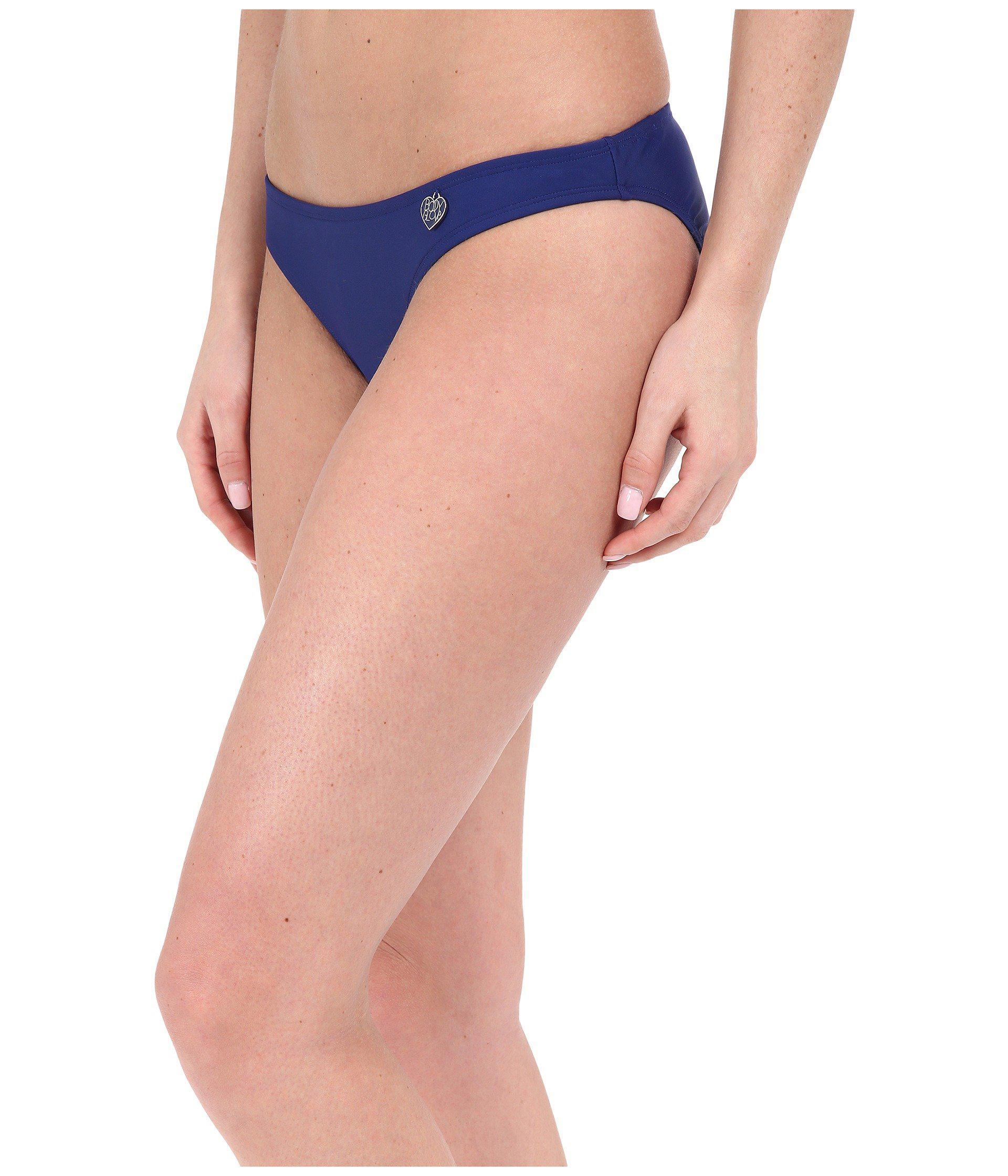 0984fb34ad8 Lyst - Body Glove Smoothies Basic Bikini Bottom (abyss) Women's ...