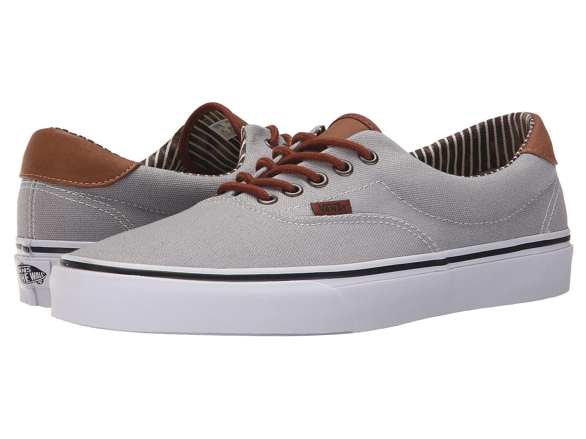 8b6103a1f06e84 Lyst - Vans Era 59 ((c l) Frost Gray acid Denim) Skate Shoes in Metallic