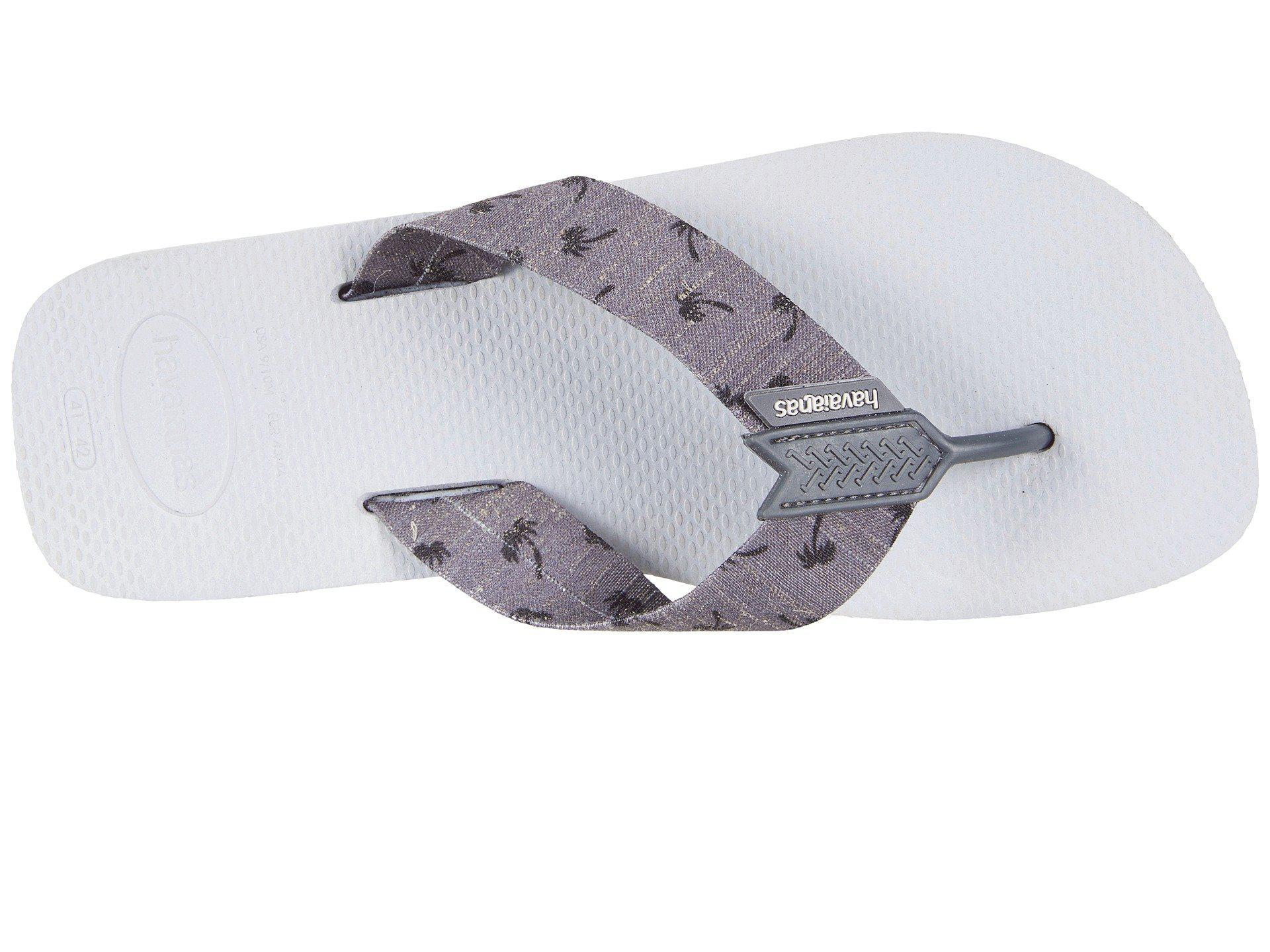 583004dd6106fb Havaianas Urban Series Flip Flops in Gray