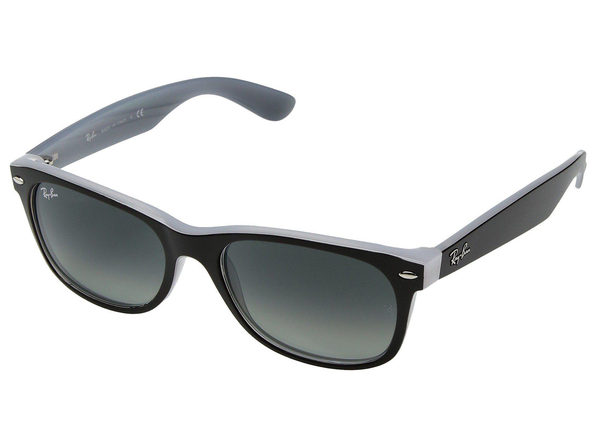 d0a01e4c499 Ray-Ban. Men s Rb2132 New Wayfarer 55mm (black g-15 Xlt Lens) Fashion  Sunglasses