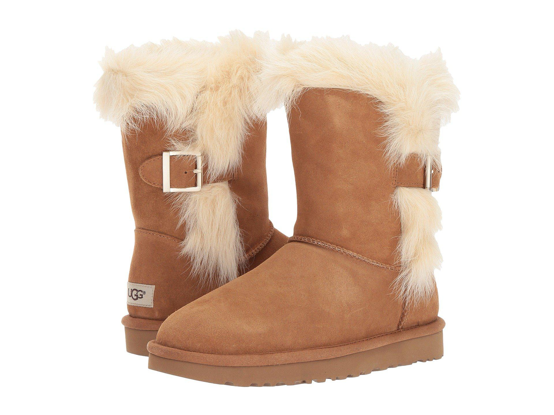 181a531f96b Lyst - UGG Deena (chestnut) Women's Cold Weather Boots in Brown