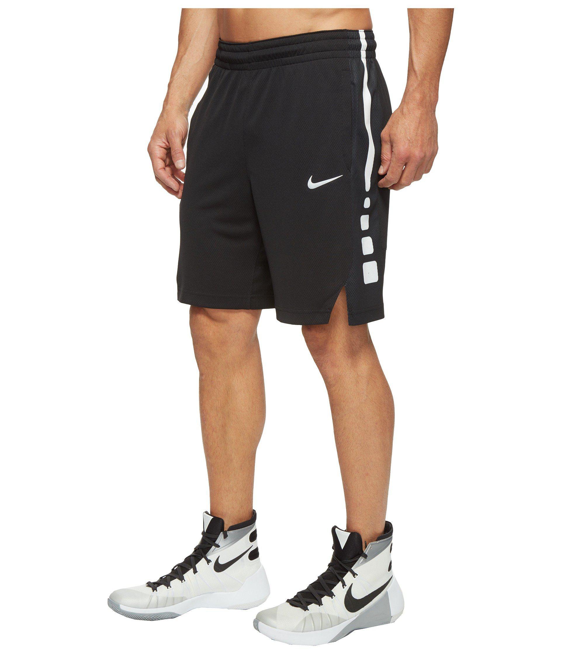 3b3bc822b793 Lyst - Nike Elite Stripe Basketball Short in Black for Men
