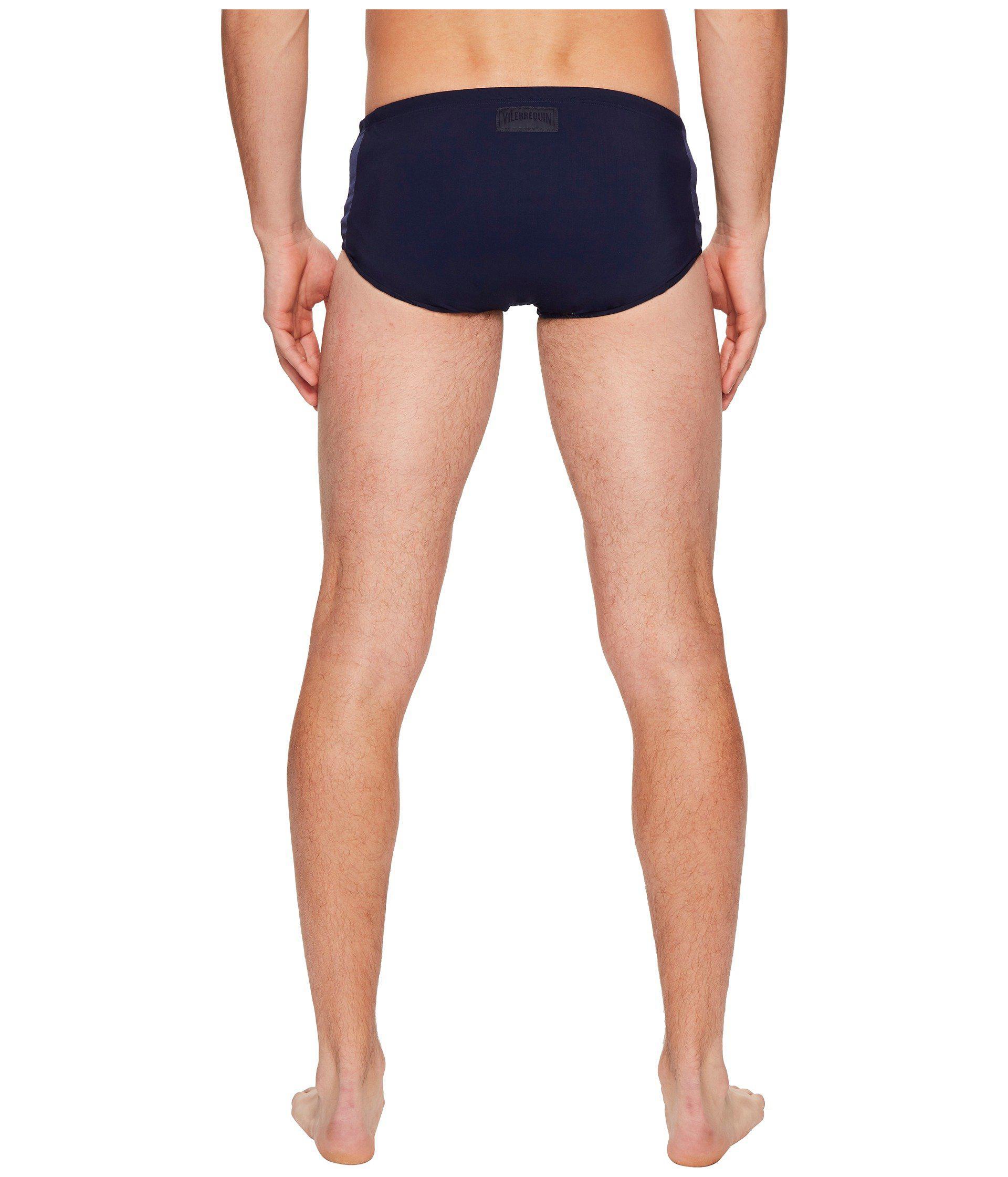 d62feedac2 Vilebrequin Tuxedo Jersey Swim Brief (navy) Men's Swimwear in Blue ...