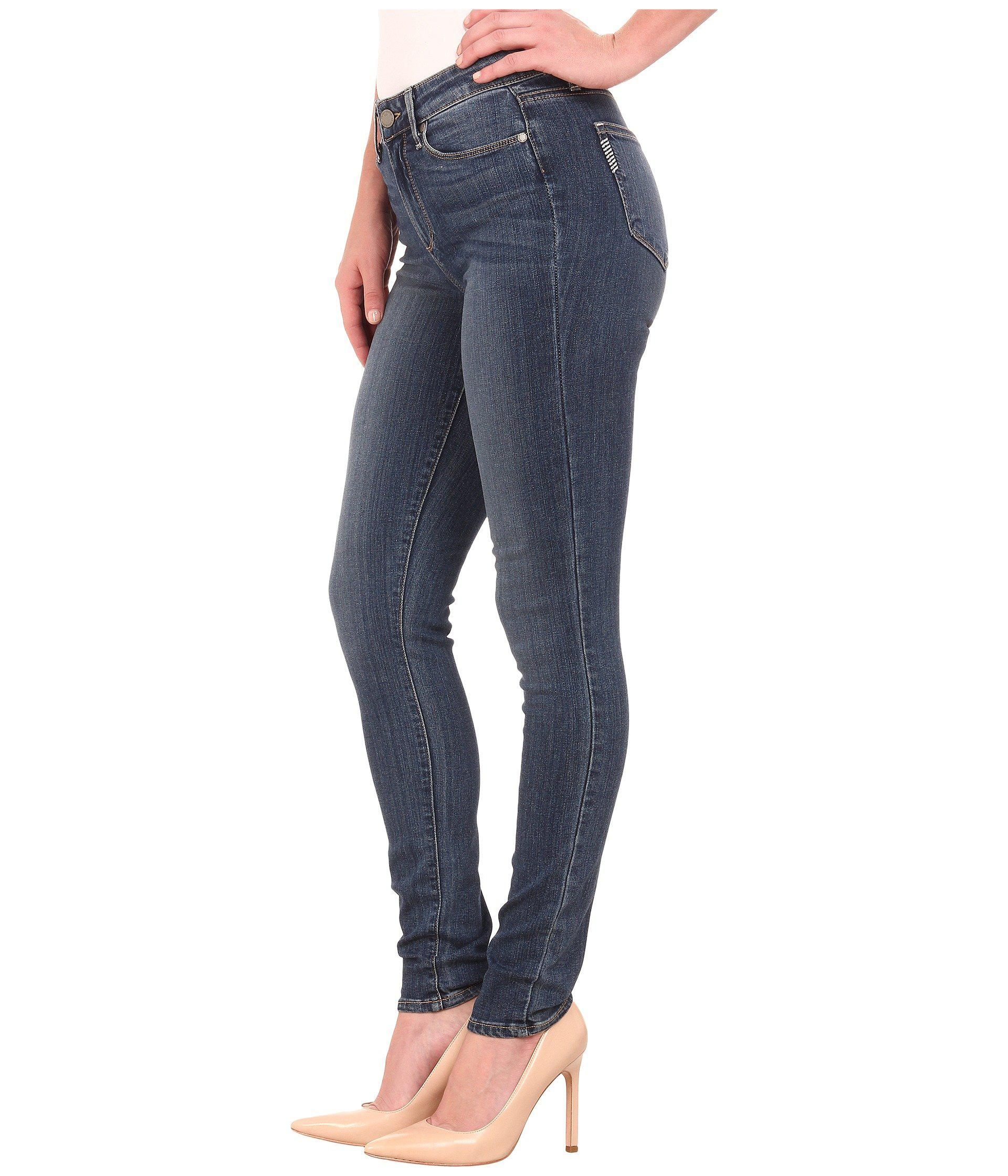 660361f5486 PAIGE Hoxton Ultra Skinny In Tristan (tristan) Women's Jeans in Blue - Save  66% - Lyst