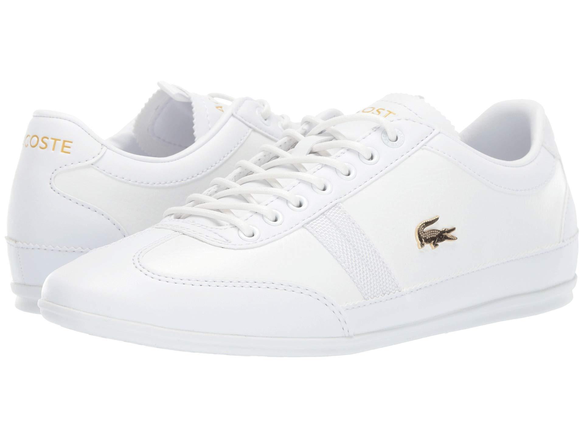 2c75a9e6ece66 Lyst - Lacoste Misano 119 1 U Cma (white white) Men s Shoes in White ...