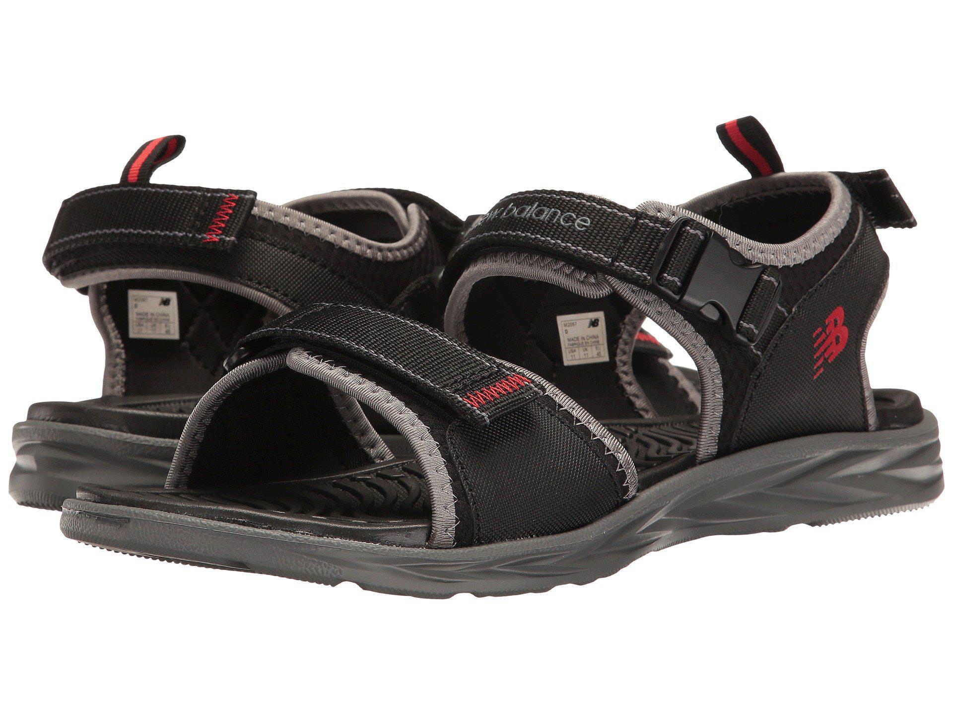 91df276b2525 Lyst - New Balance Response Sandal (brown) Men s Sandals in Black ...