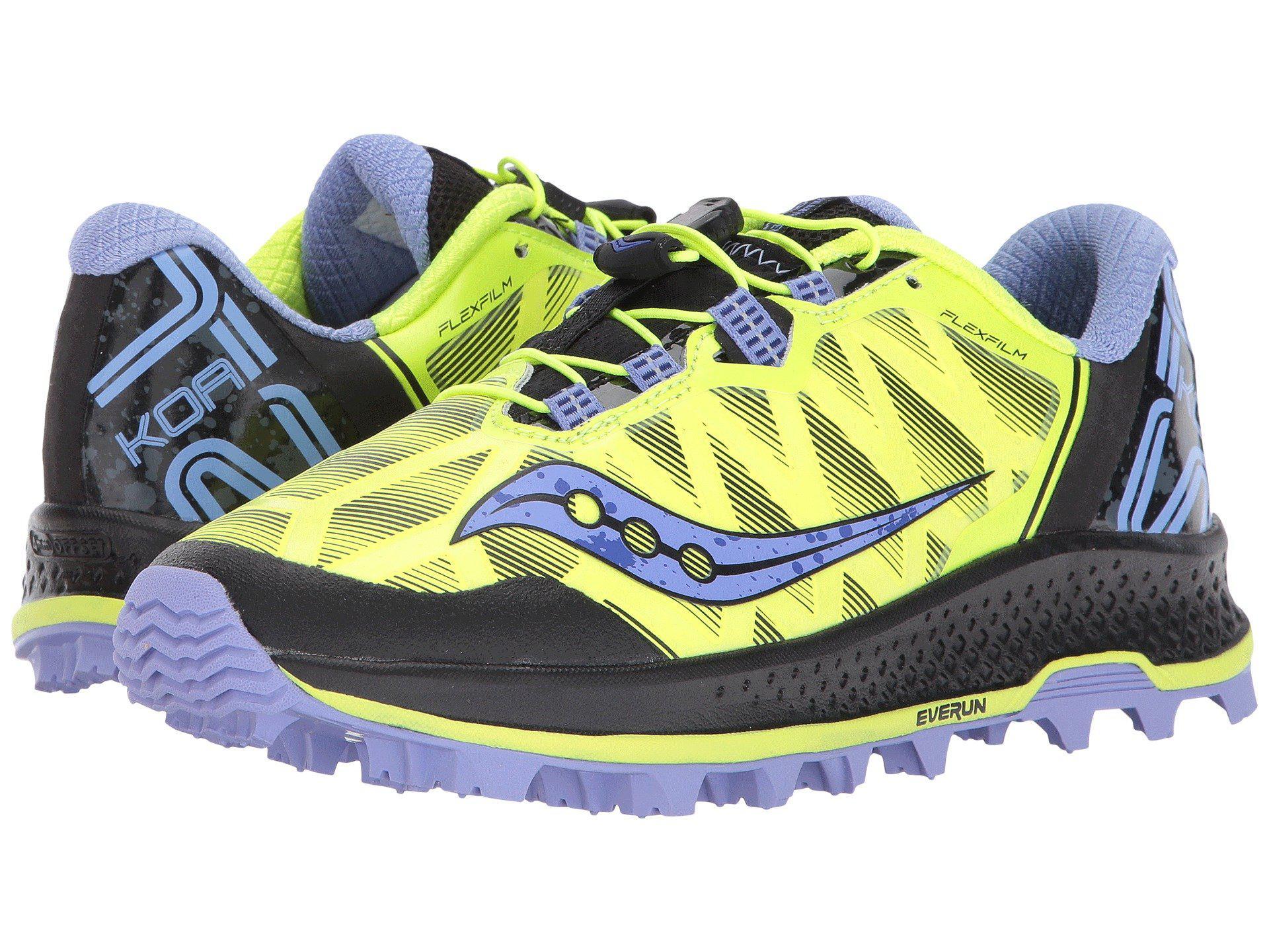 66f0f8261ca9 Lyst - Saucony Koa St (citron purple) Women s Running Shoes