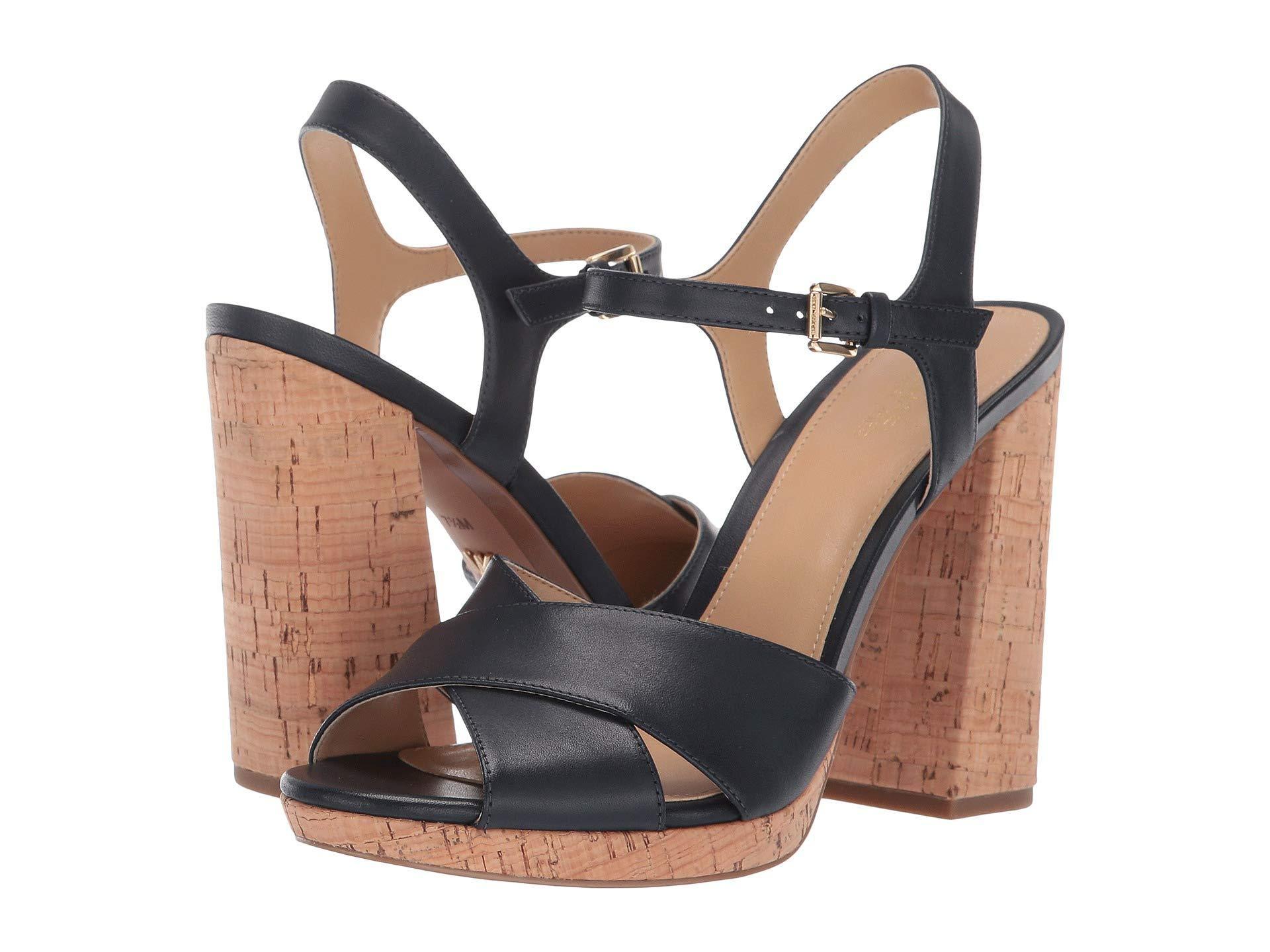 28d6693e81b2 MICHAEL Michael Kors. Alexia Platform (olive Vachetta cork) Women s Shoes