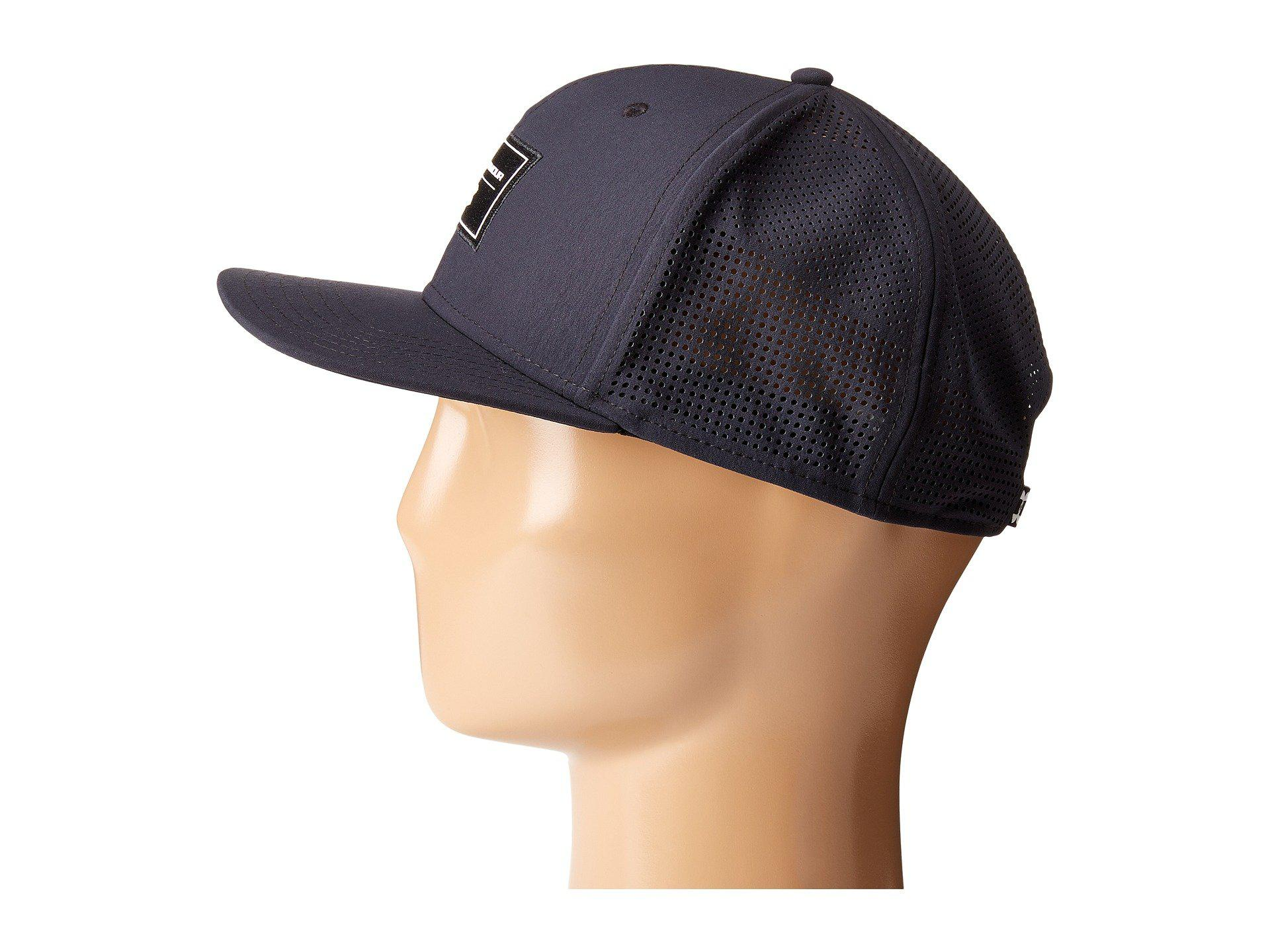 size 40 ed951 2293e cheap lyst under armour ua supervent fb hat in black for men f4dcf 51784
